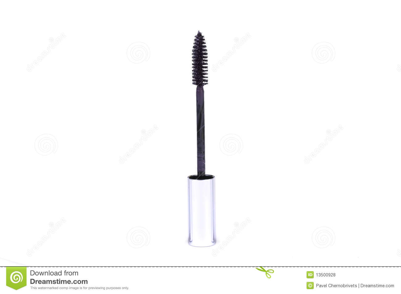 Mascara Stick On White Royalty Free Stock Photos - Image: 13500928