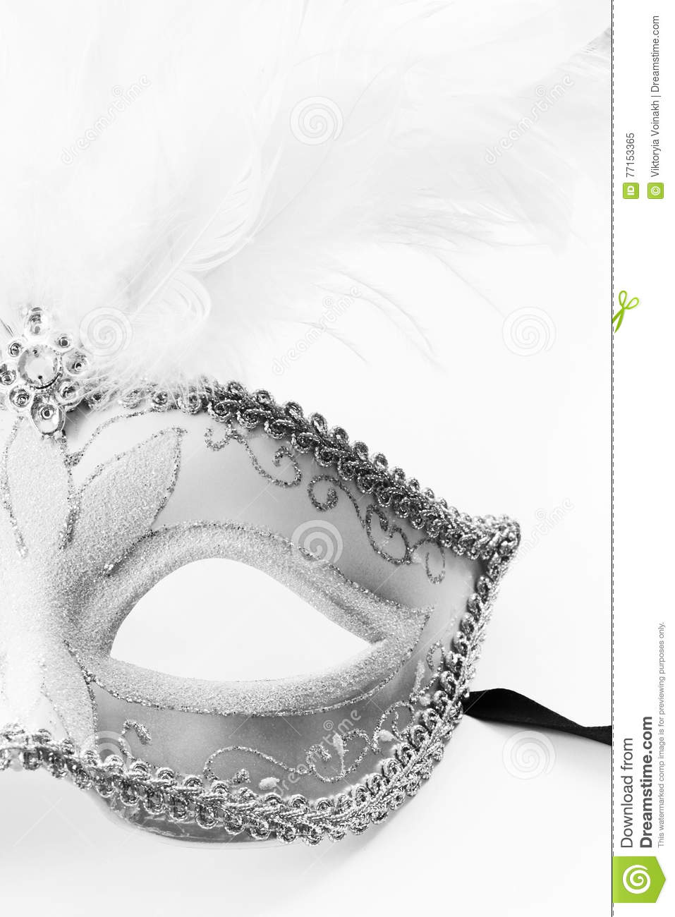Mascarade d isolement de masque