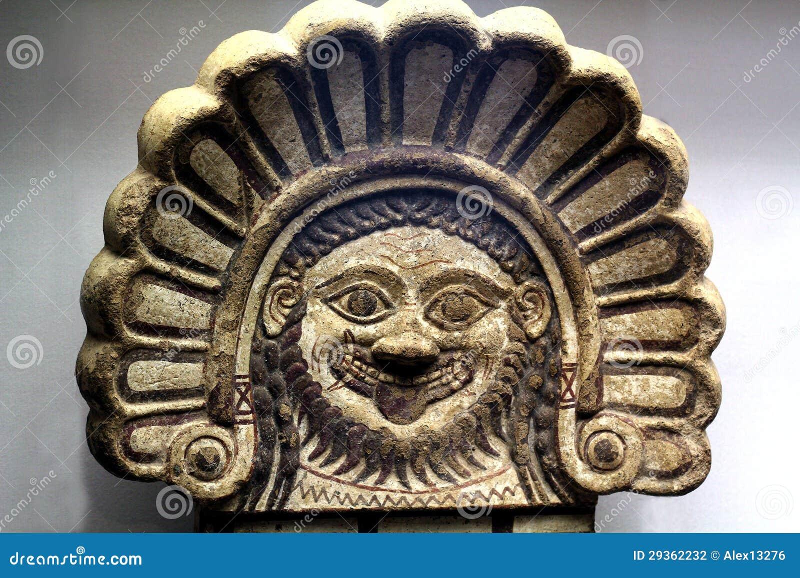 Fotografia stock: maschera antica greca