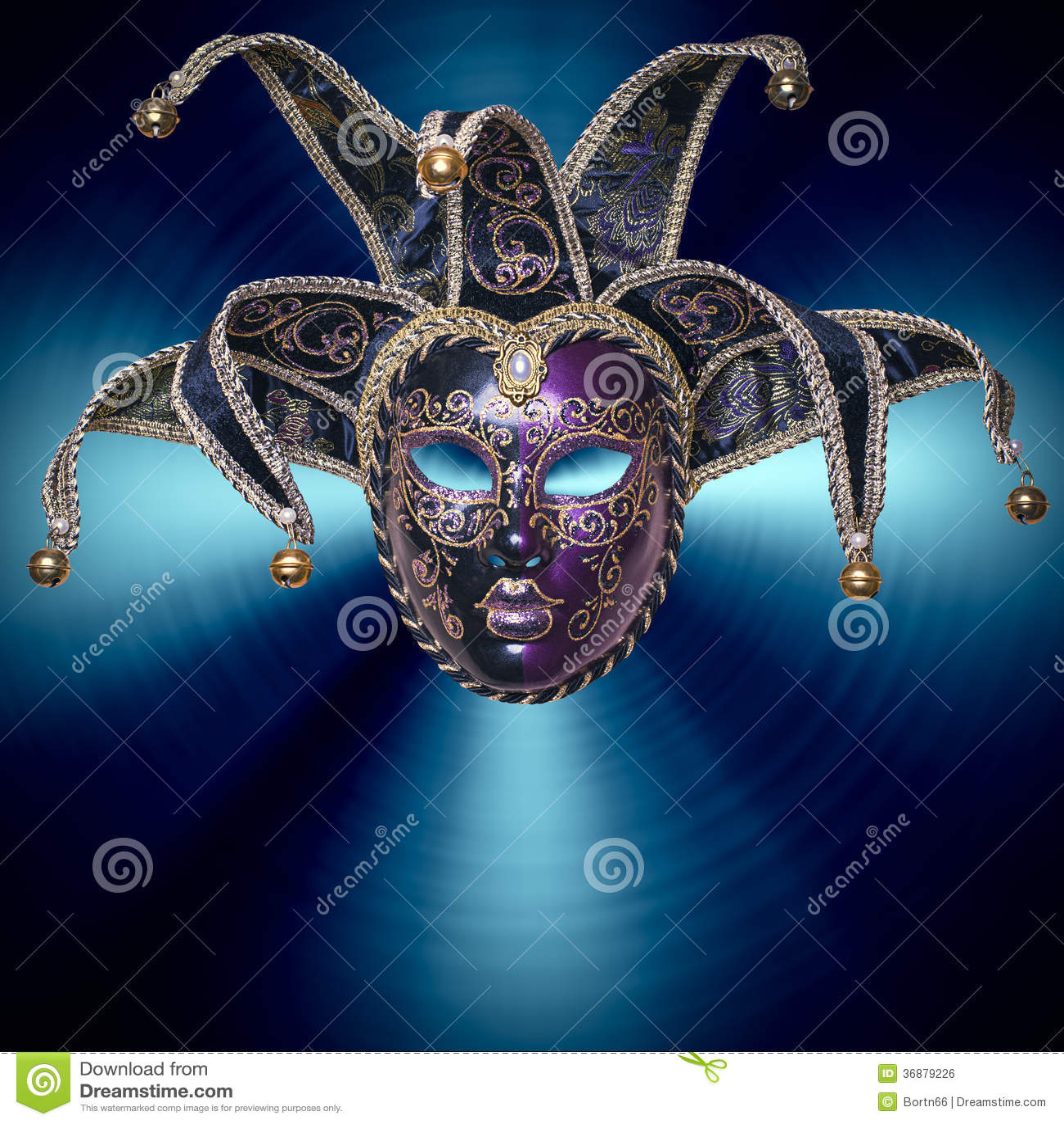 Download Maschera di carnevale fotografia stock. Immagine di umano - 36879226