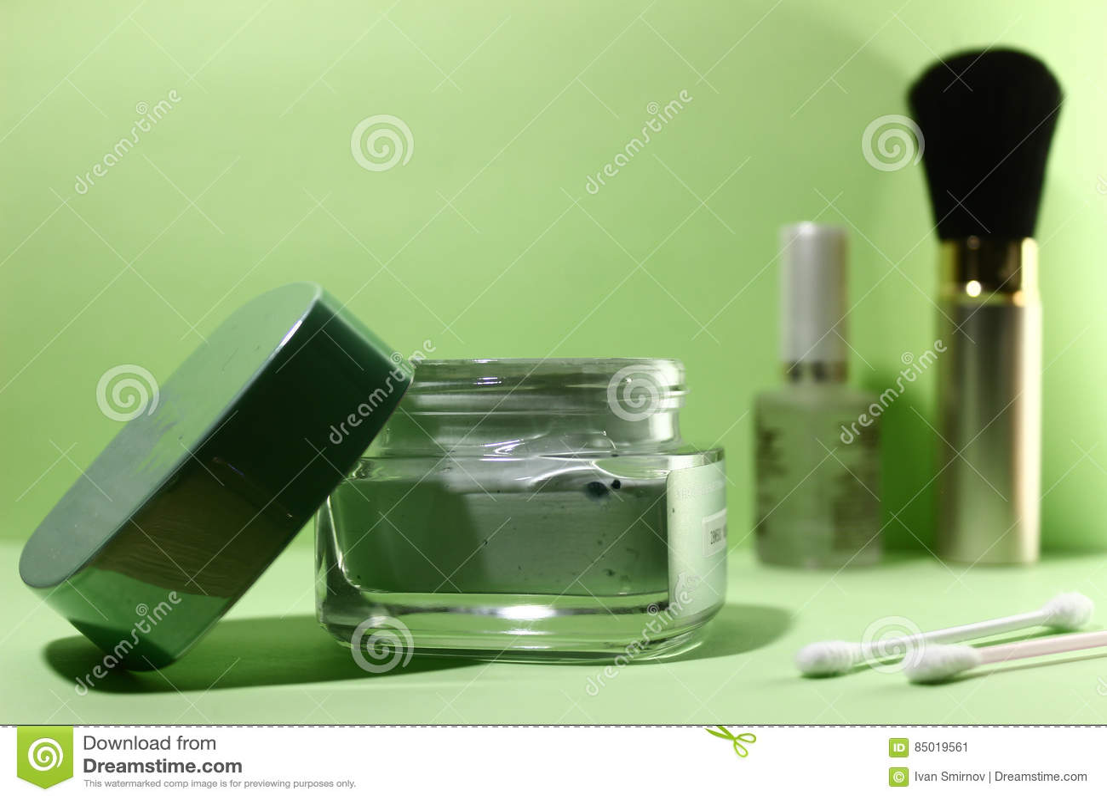 Maschera di protezione, cosmetico