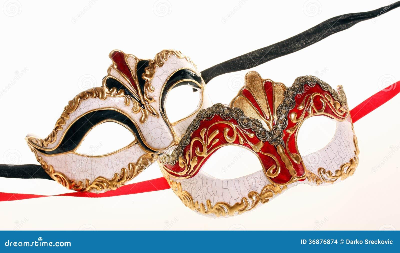 Download Maschere di Venecian fotografia stock. Immagine di identità - 36876874
