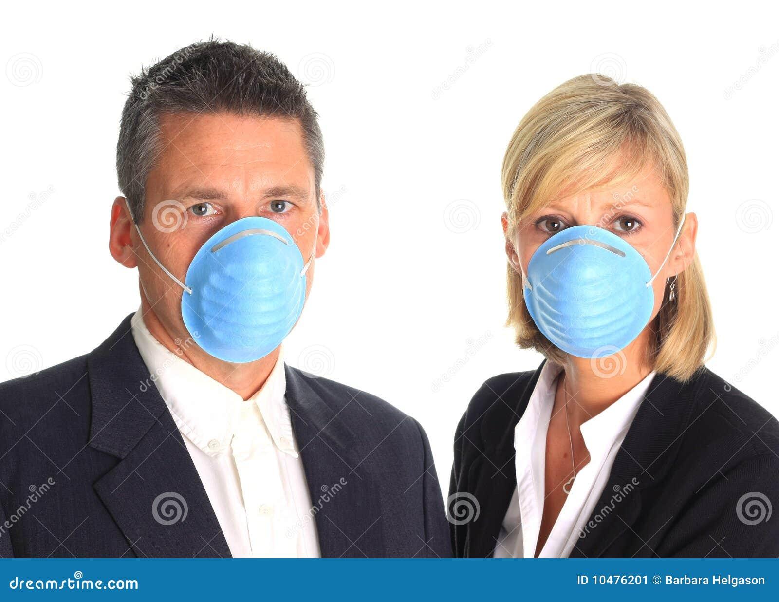 Mascherine da portare di influenza delle coppie