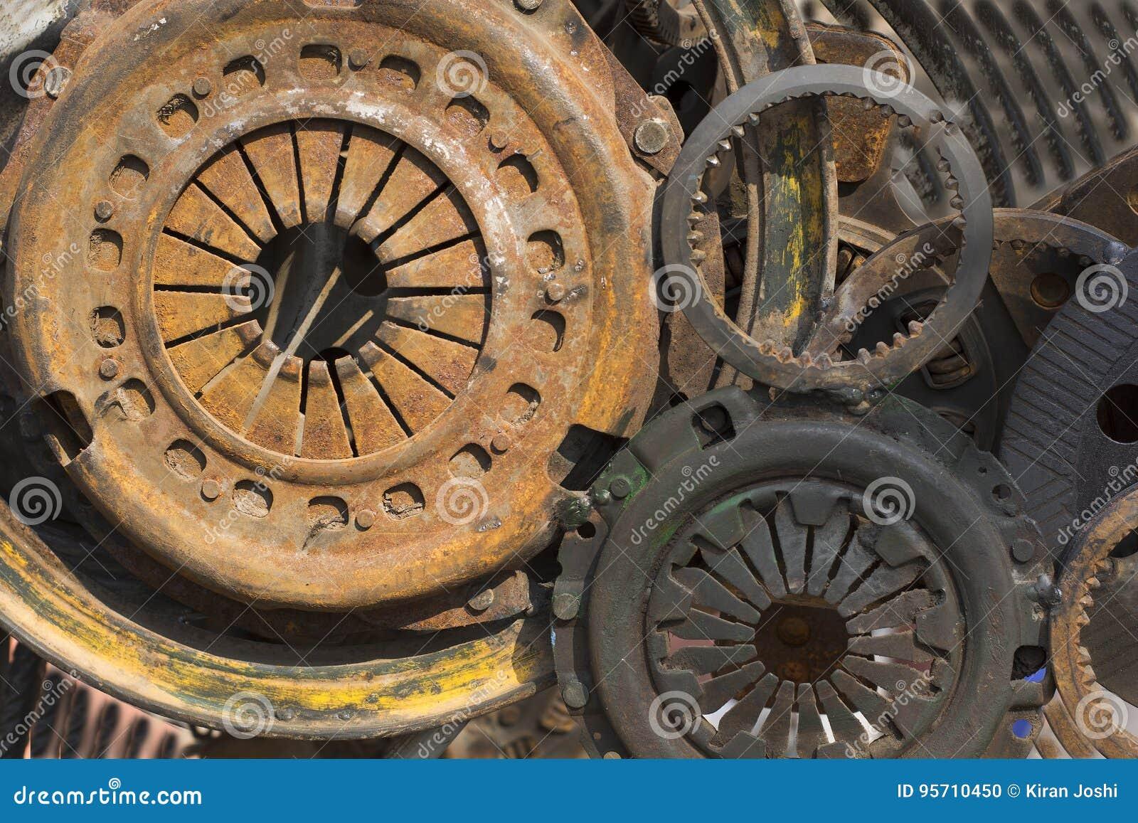 Maschinenteile der modernen Zeiten