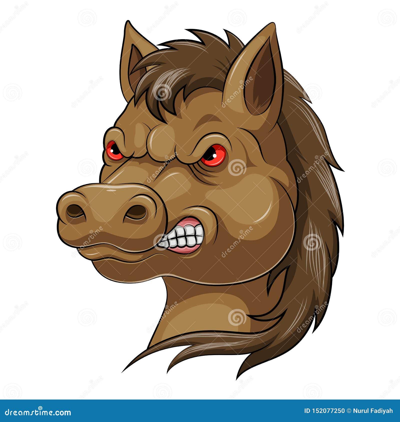 Mascot Head of an horse