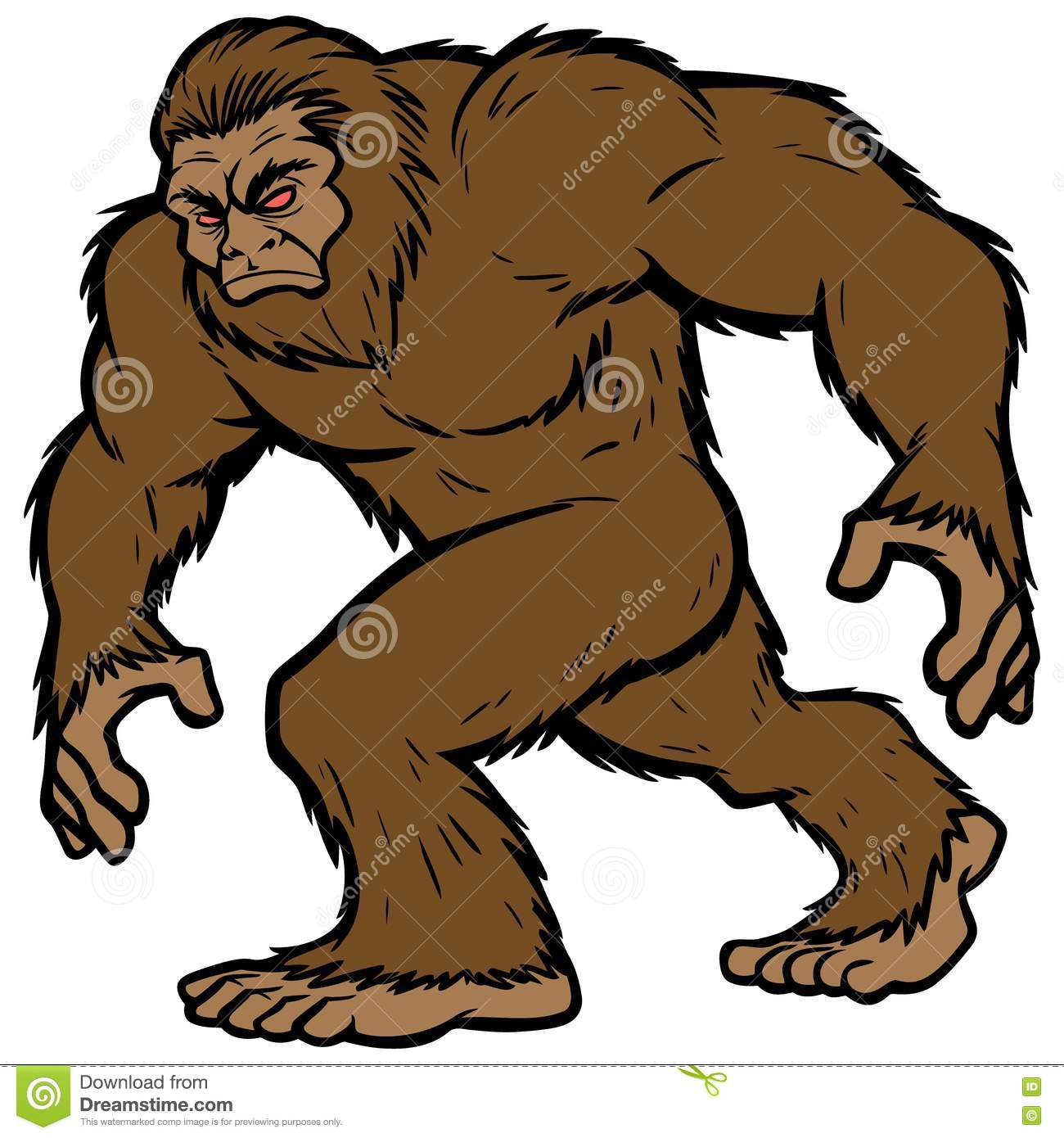 Mascota de Bigfoot