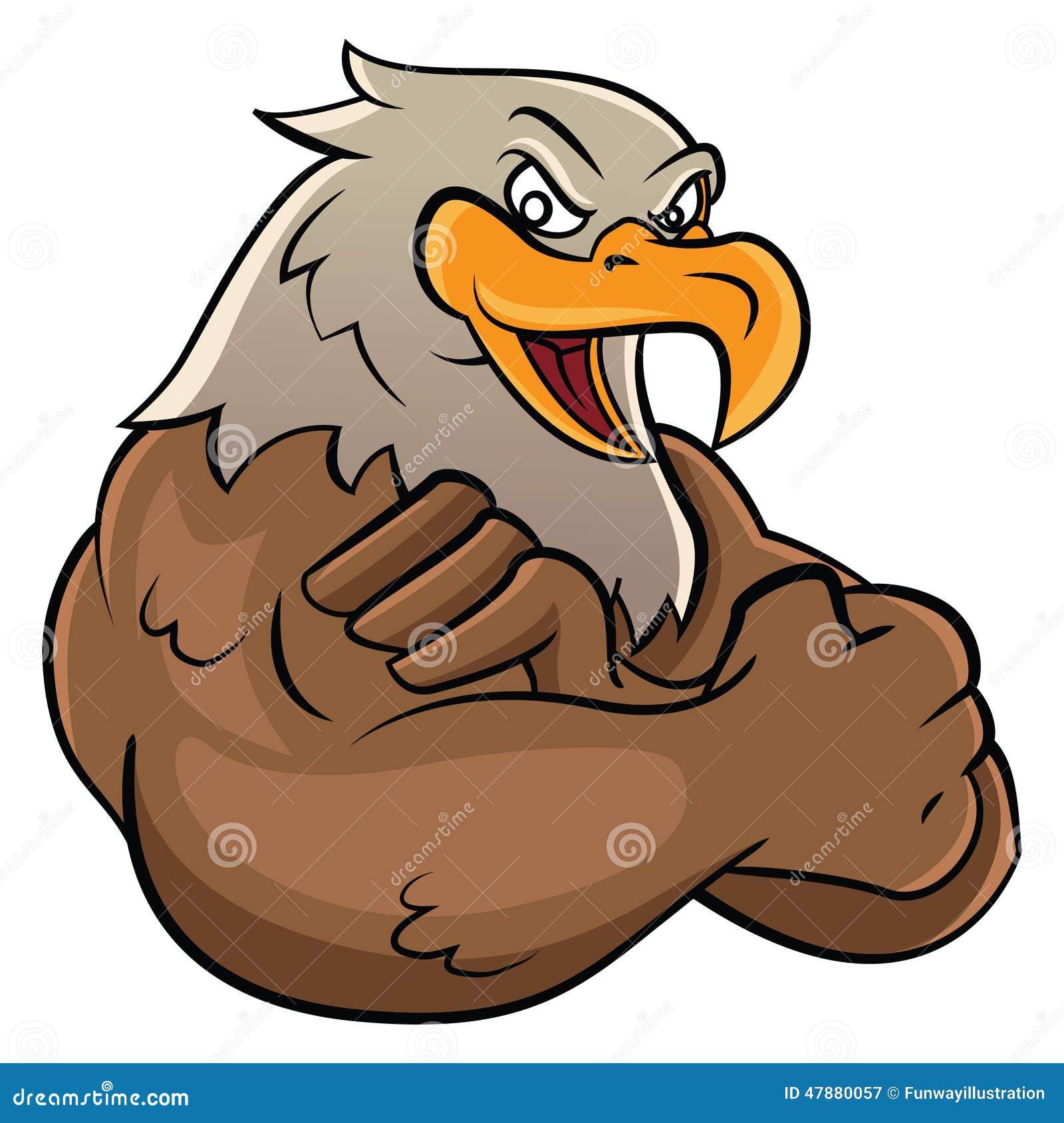 Mascota de Eagle