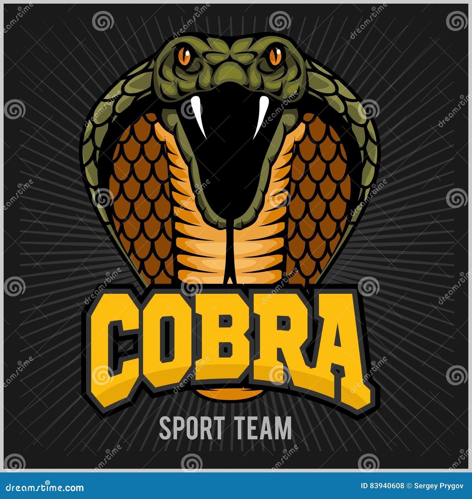 Mascota De La Cobra - Equipo De Deporte Ilustración del Vector ...