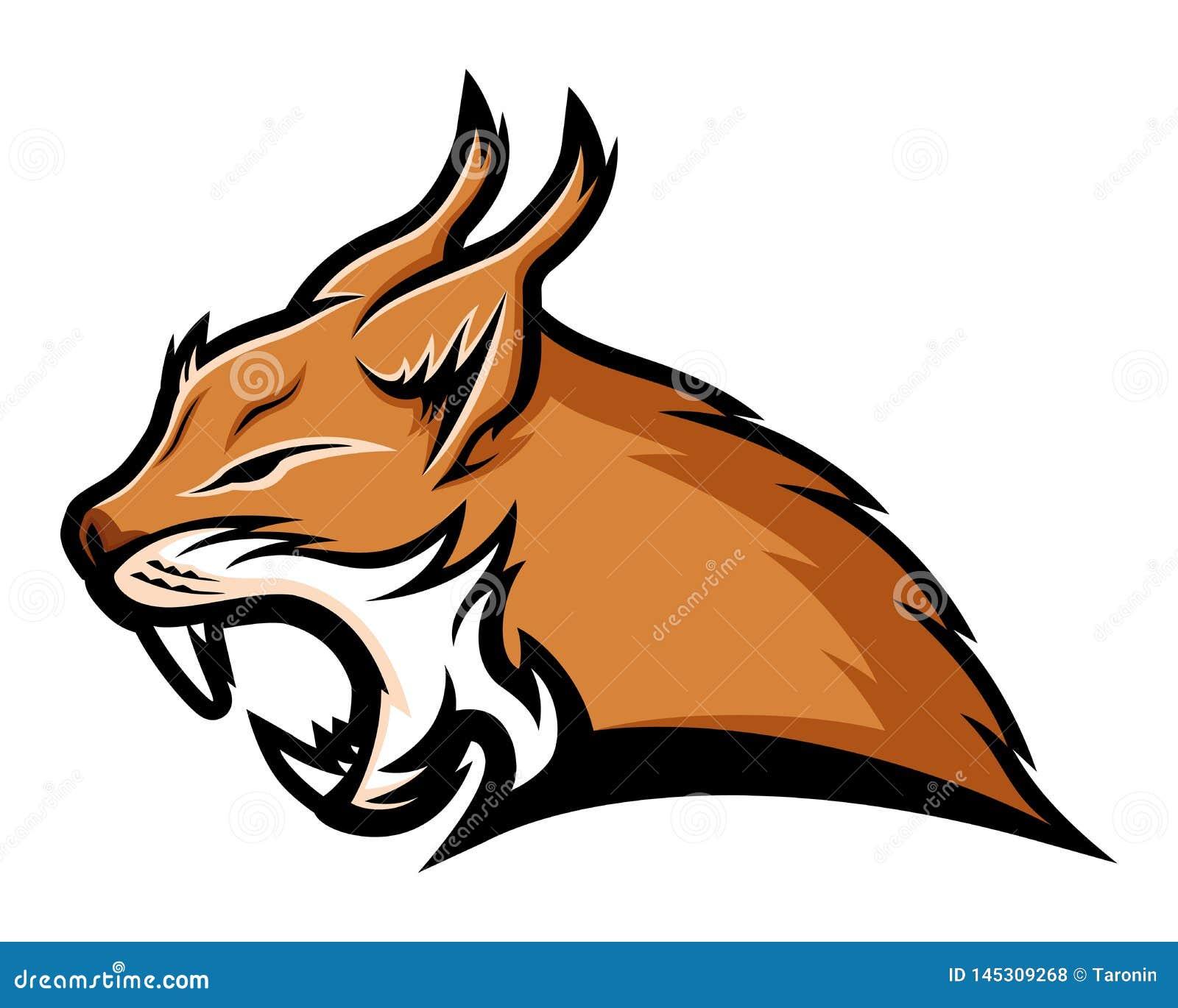 Mascota de la muestra del lince