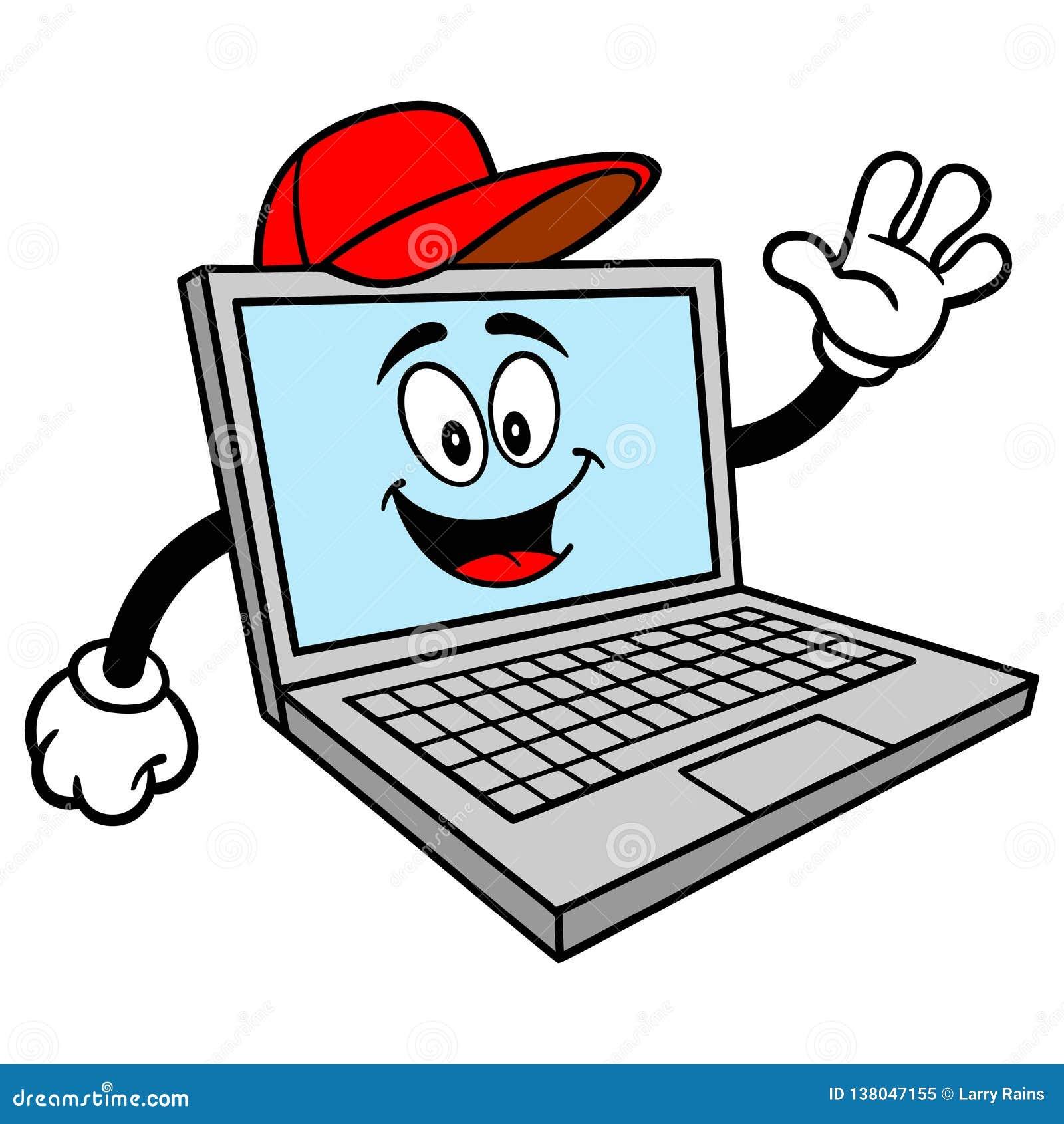Mascota de la reparación del ordenador