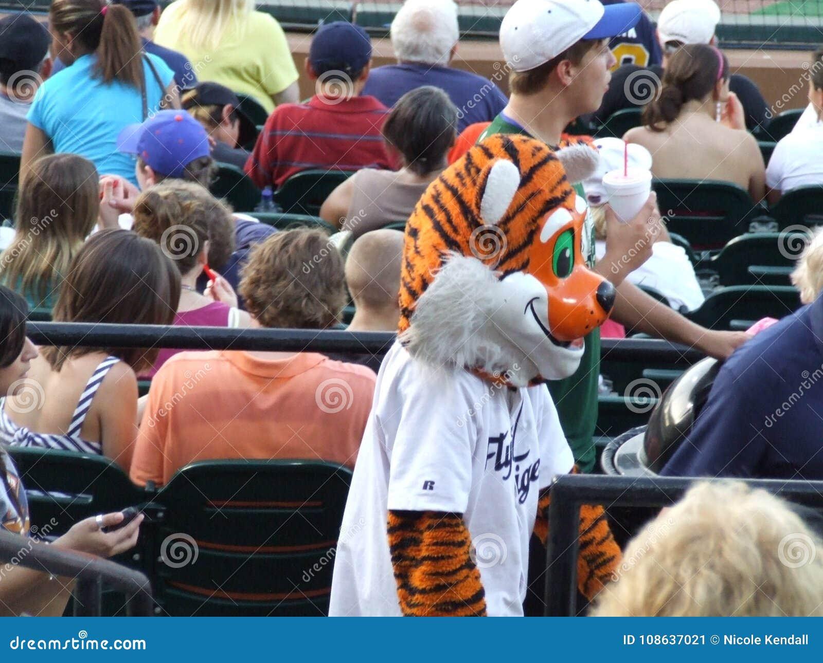 Mascota De Lakeland Flying Tigers Foto Editorial Imagen De Juego