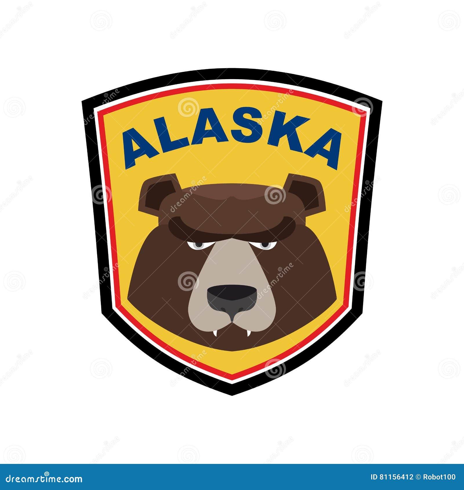 Emblema Del Oso Stock Images