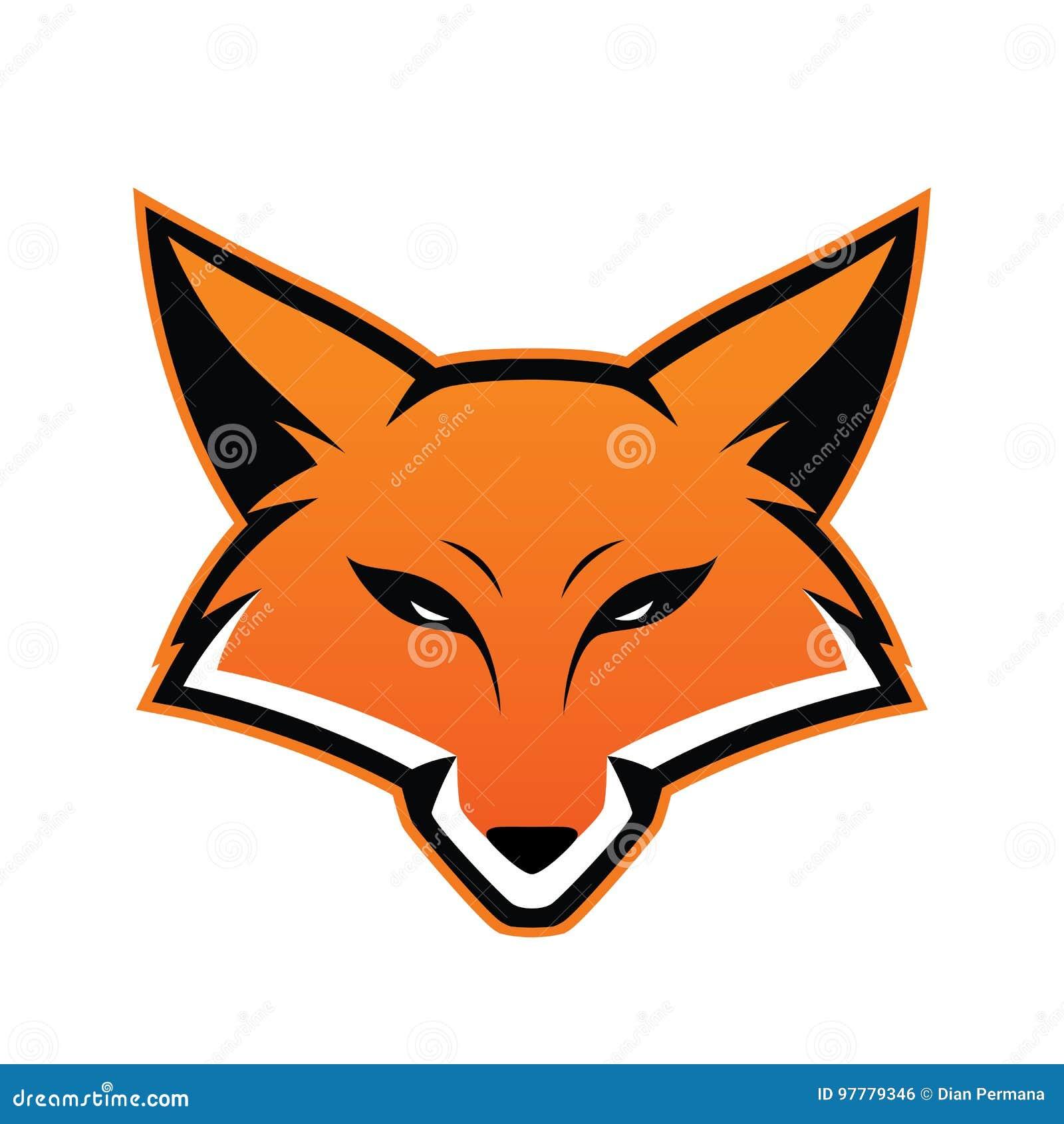 Mascote da cabeça do Fox