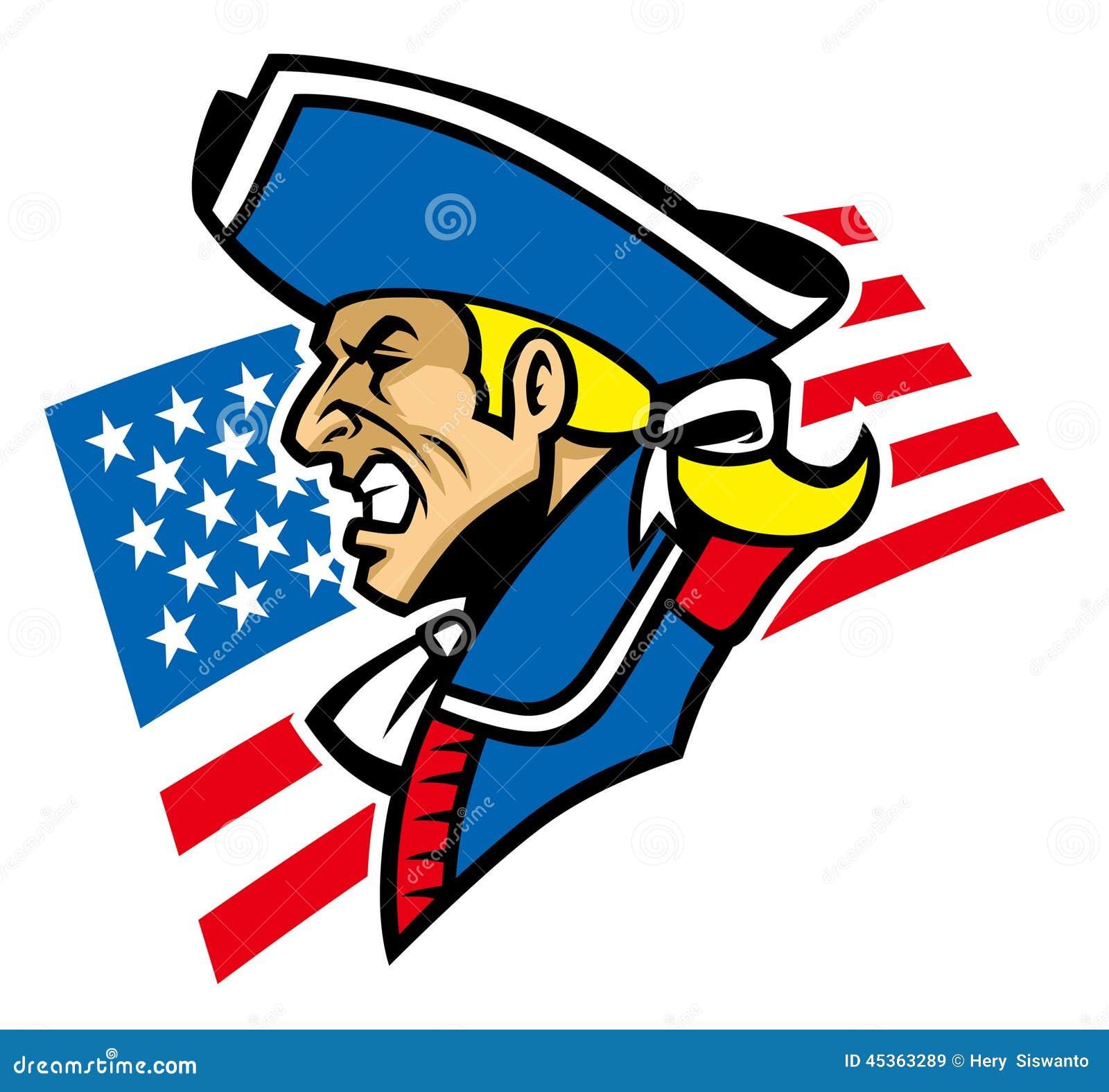 Mascotte de patriote