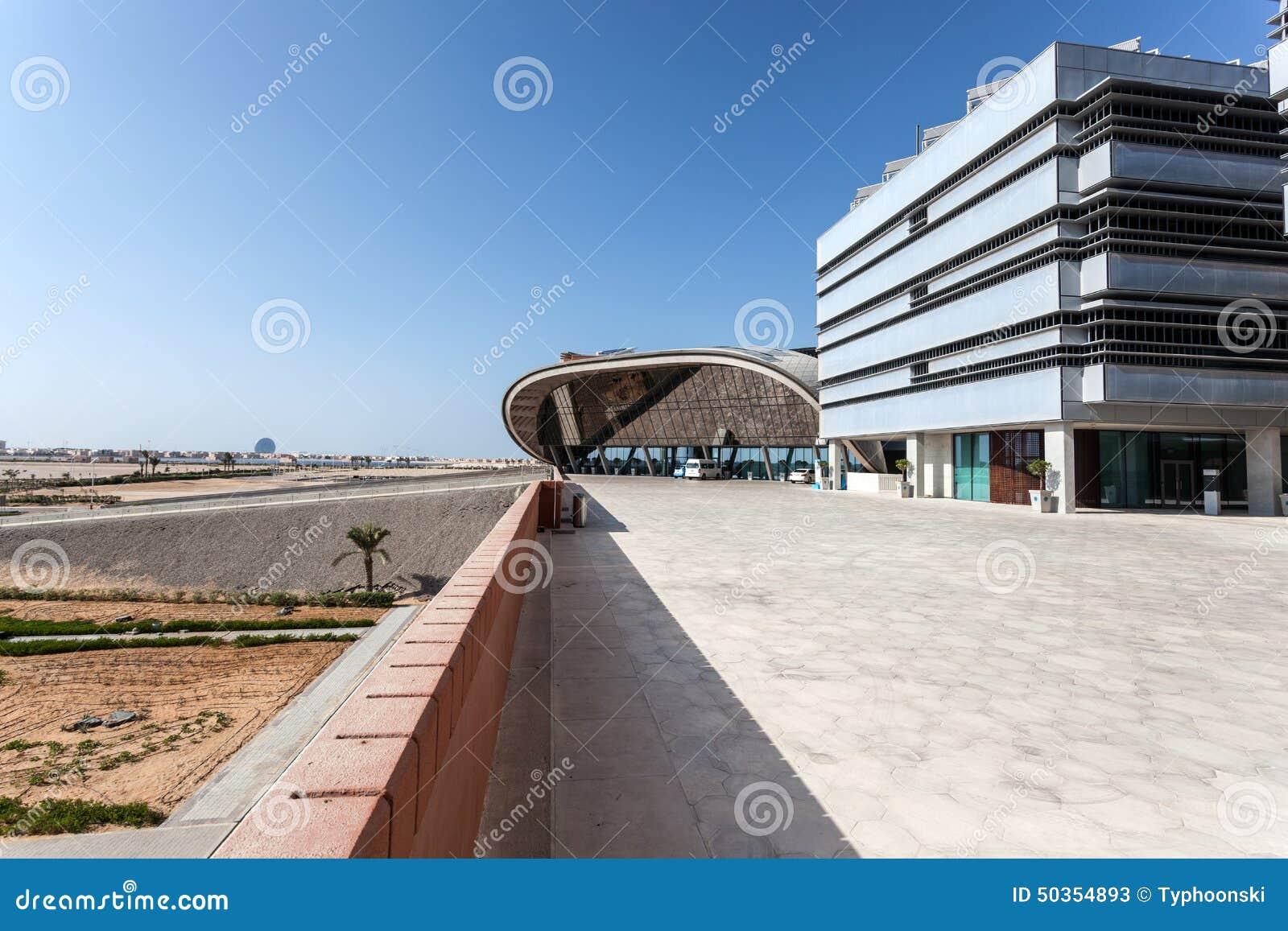 Masdar institute in abu dhabi editorial stock photo for Masdar abu dhabi