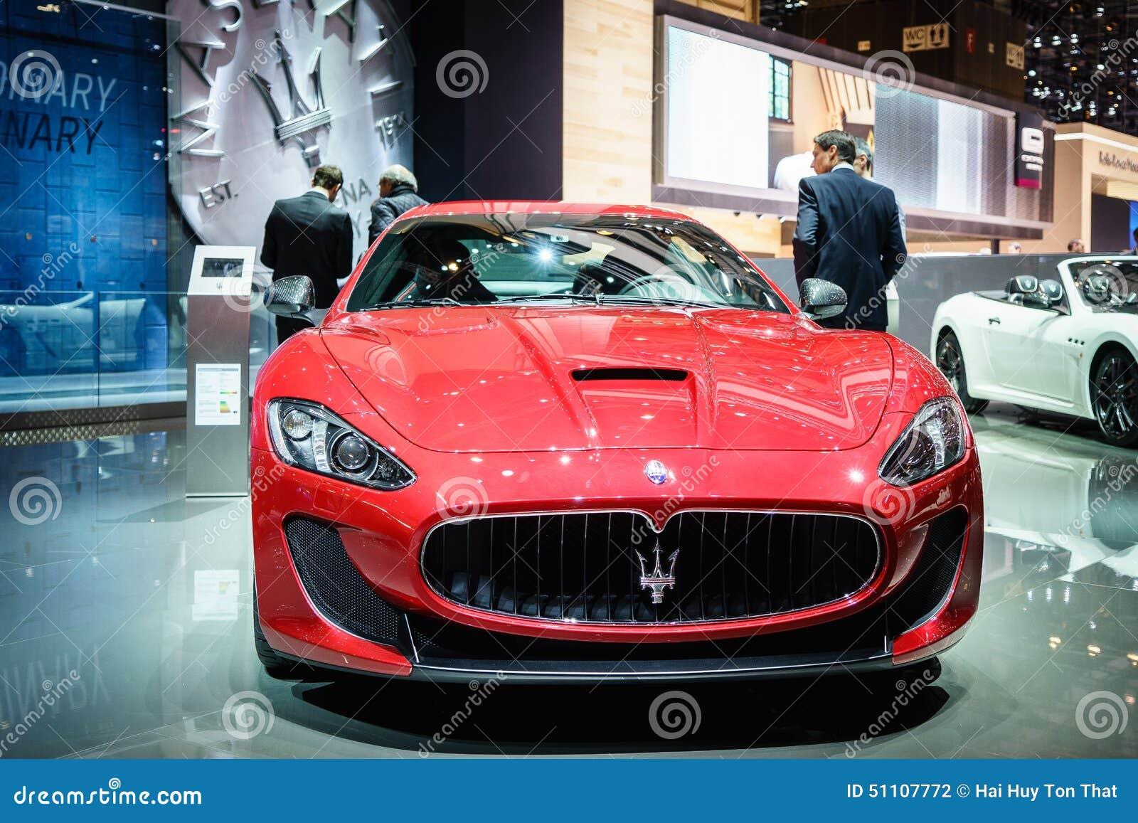 Maserati GranTurismo Lux Stradale, Autoausstellung Geneve 2015