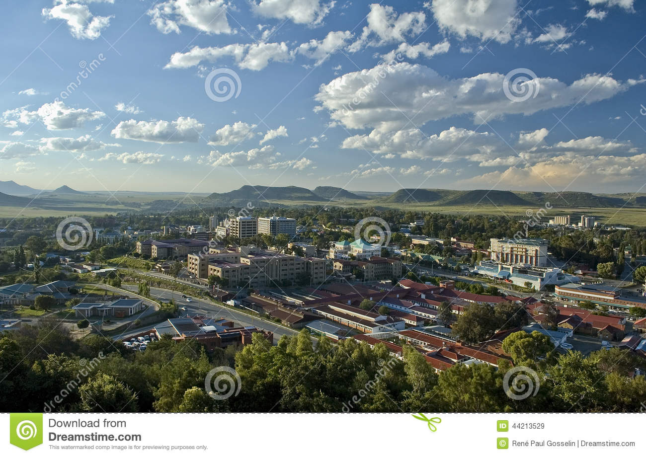Maseru city lesotho editorial stock image image 44213529 editorial stock photo sciox Images