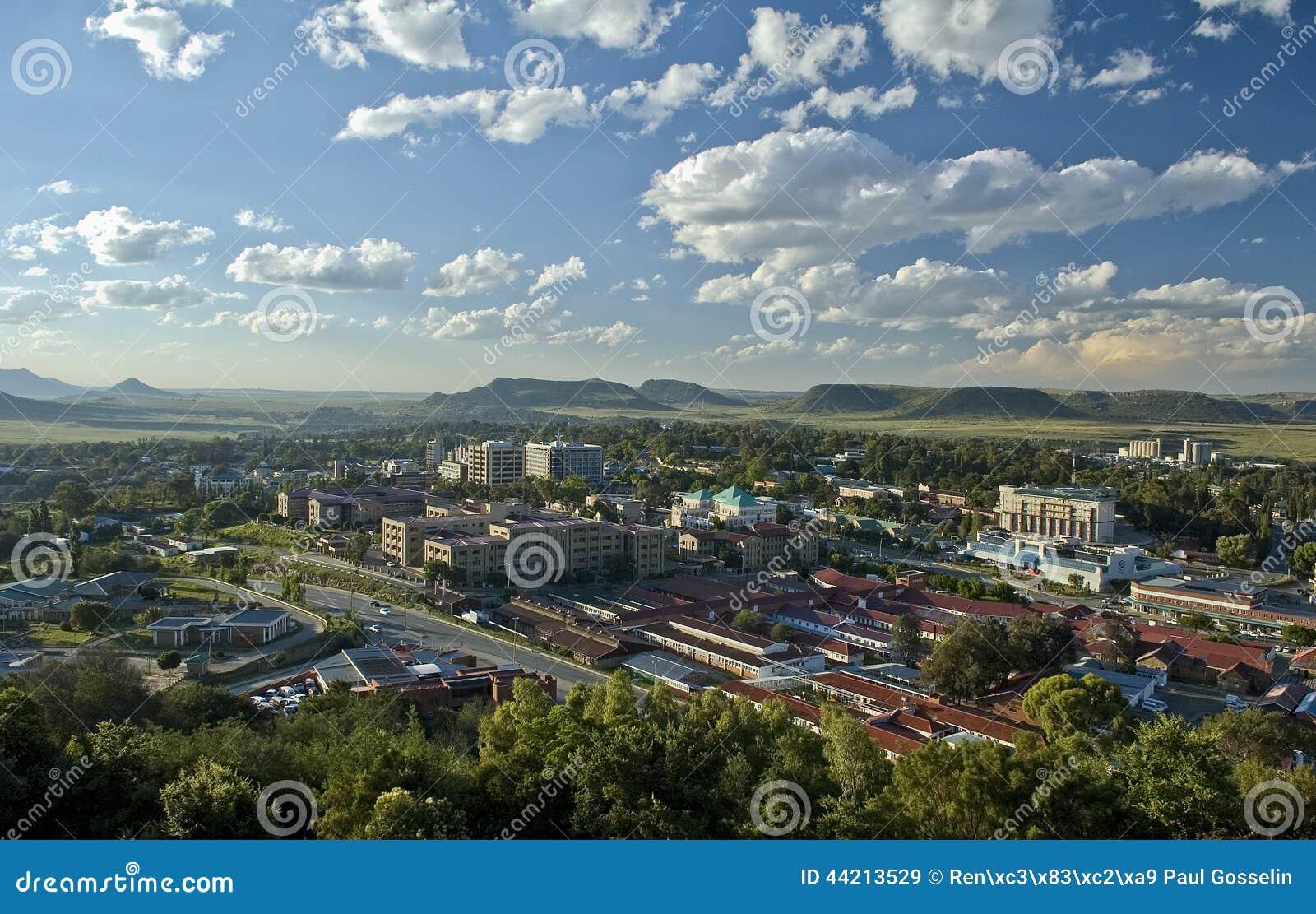Maseru miasto, Lesotho