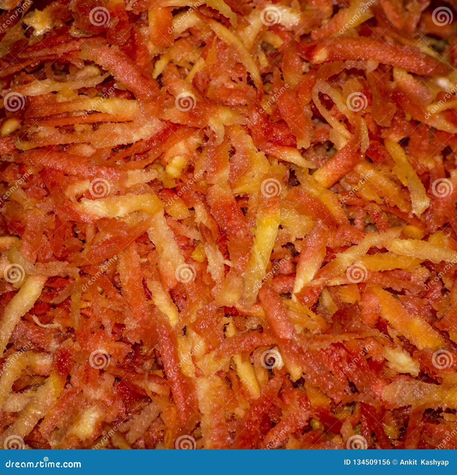 Mashed marchewki gotowe gotować