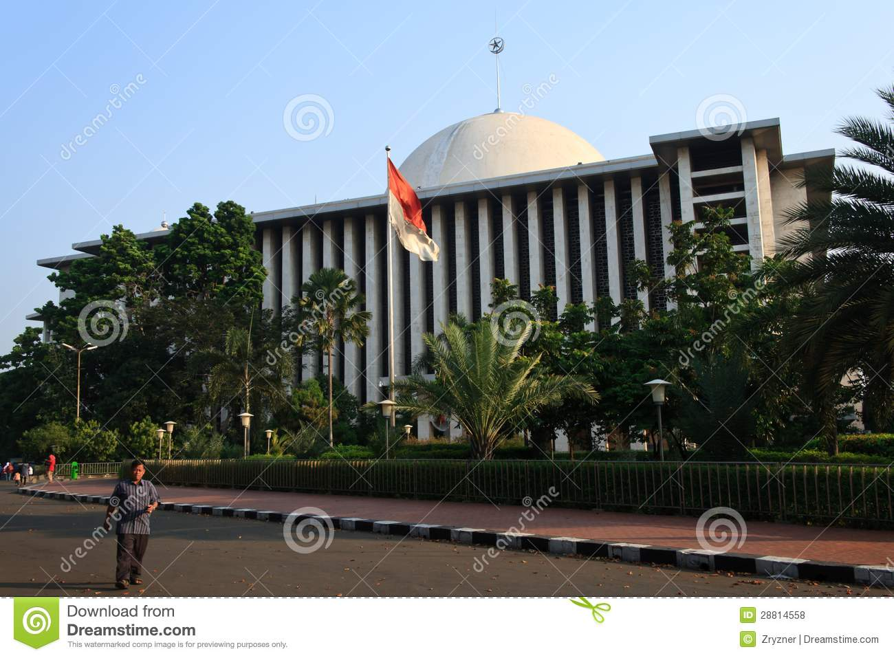 Masjid Istiqlal Editorial Stock Photo Image Of Prayer 28814558
