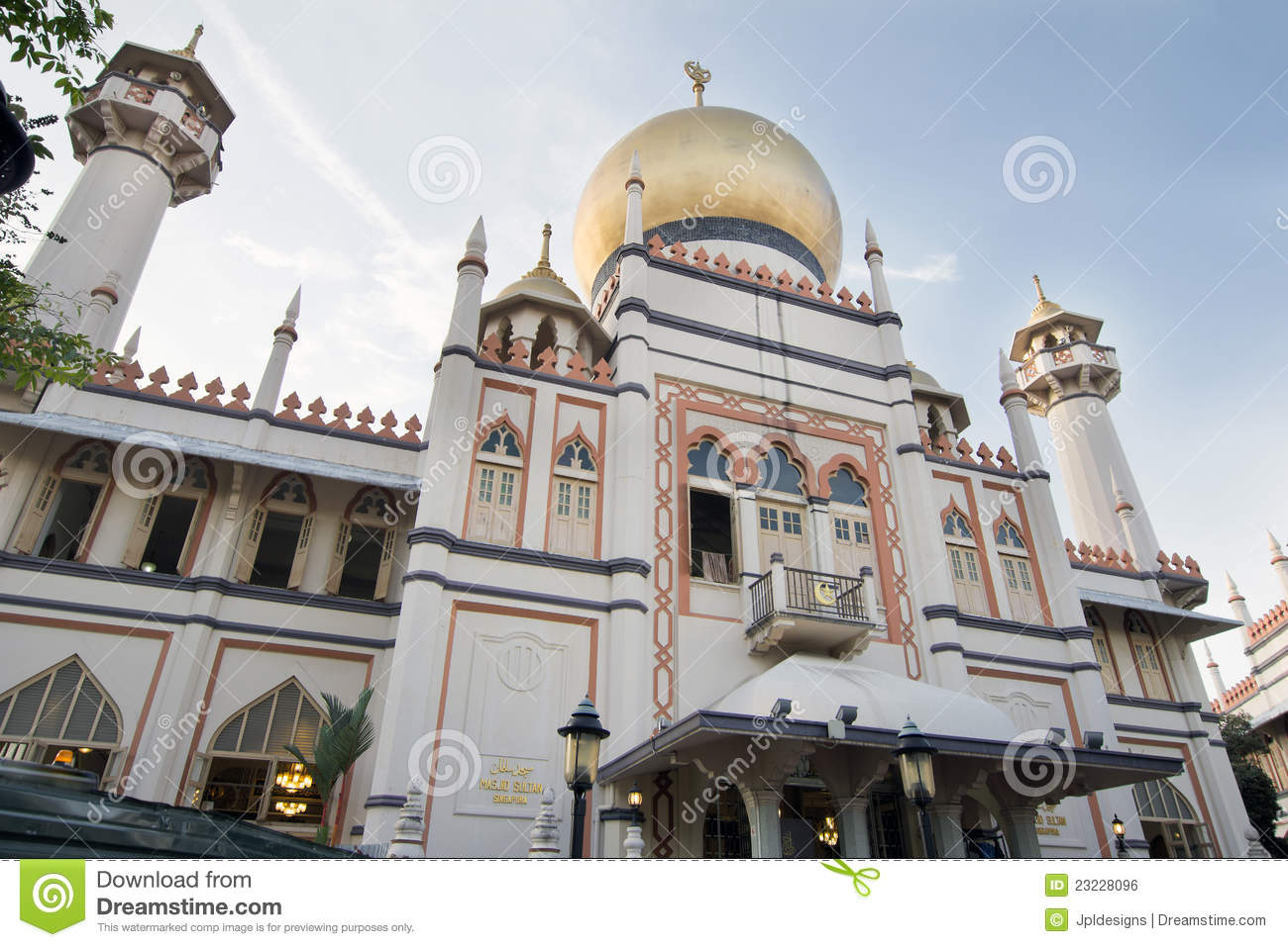 Masjid Sultan Mosque in Singapore