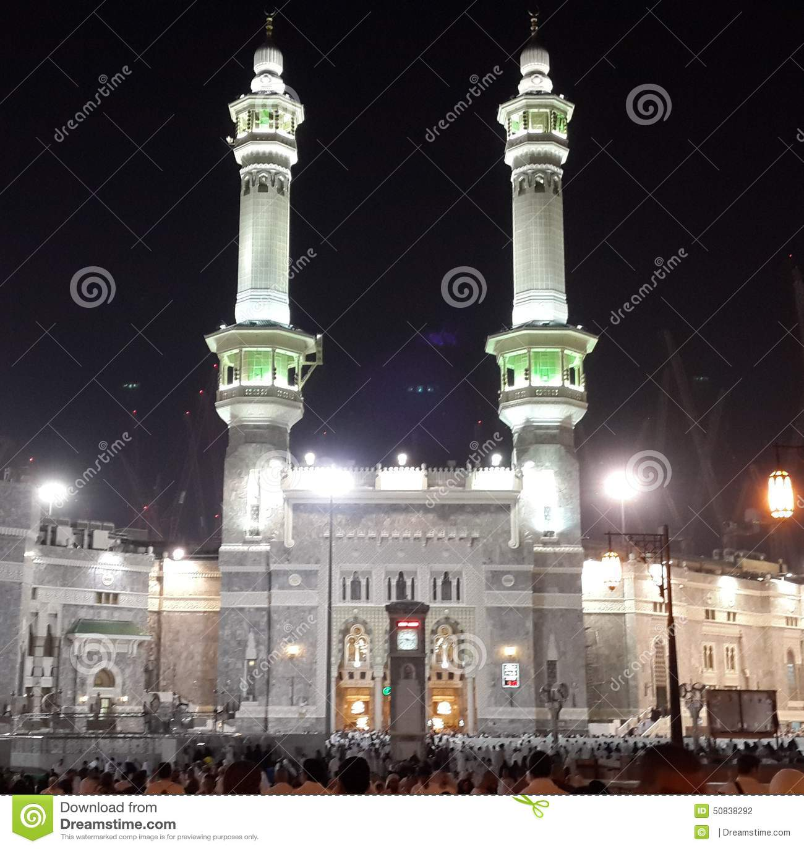 masjidil haram stock photo image of place kiblat kaaba 50838292
