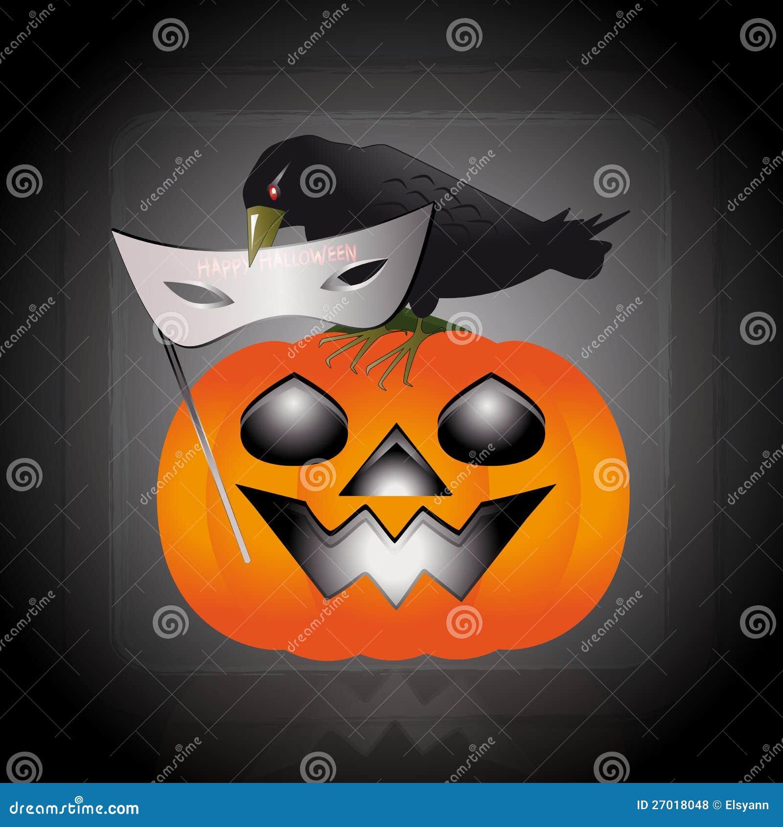 Mask Of Halloween Royalty Free Stock Photos - Image: 27018048