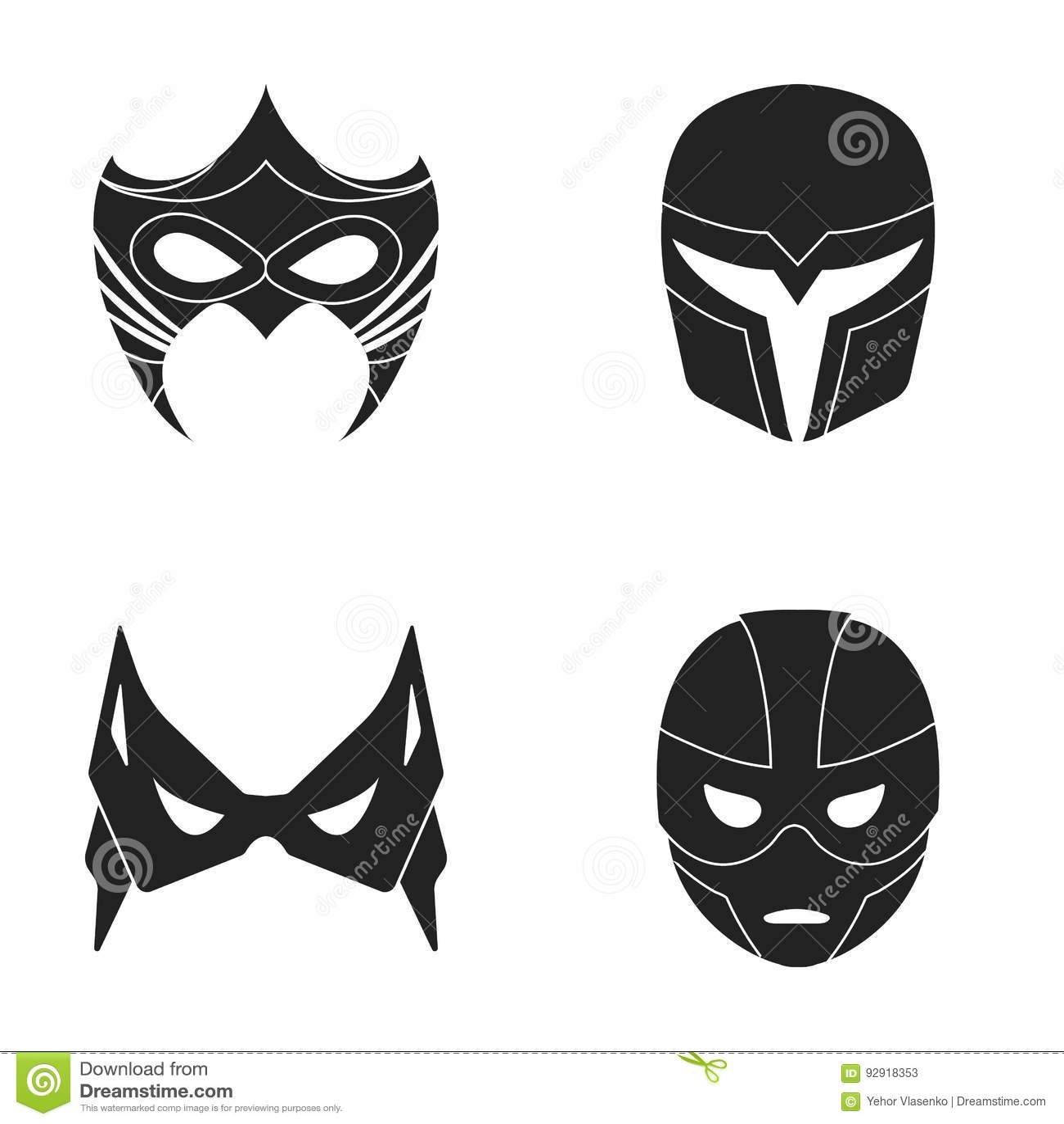Heromask Languages Black Version