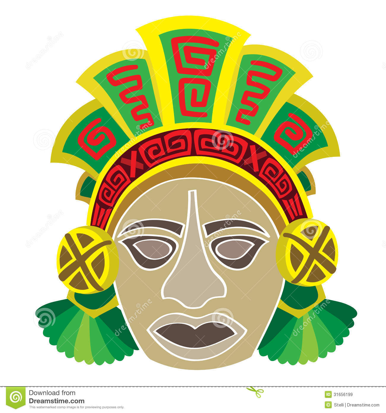 aztec mask template - the mayans mask new calendar template site