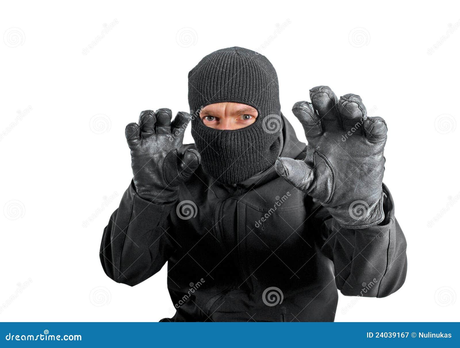Maskerad brottsling fotografering för bildbyråer. Bild av rånare ... 706a3c901d2a4