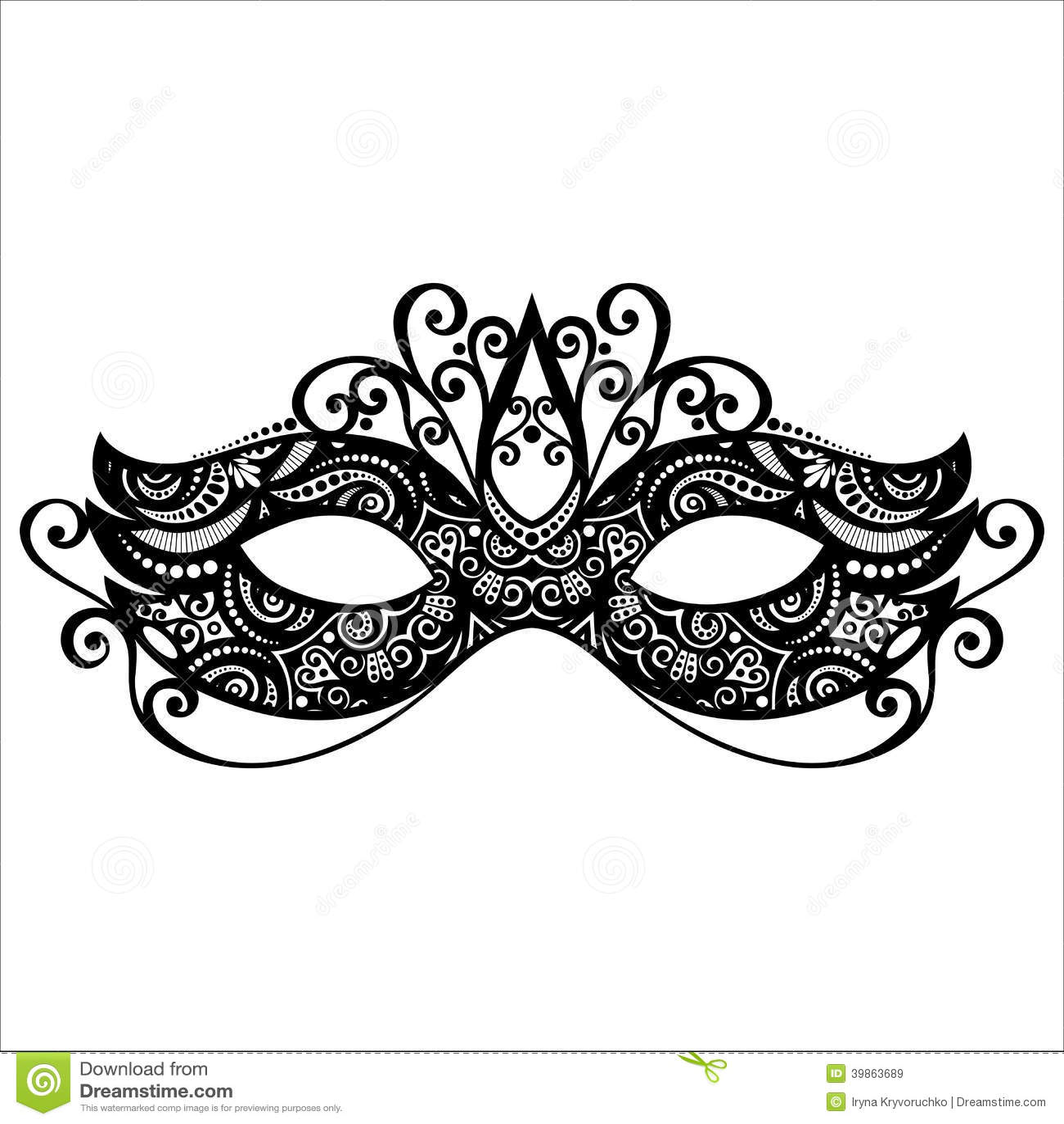 Maskerade-Maske