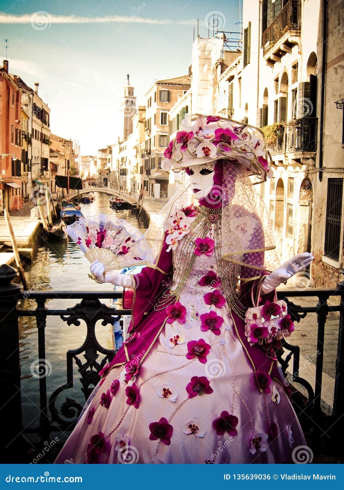 Maskerade in Venetië