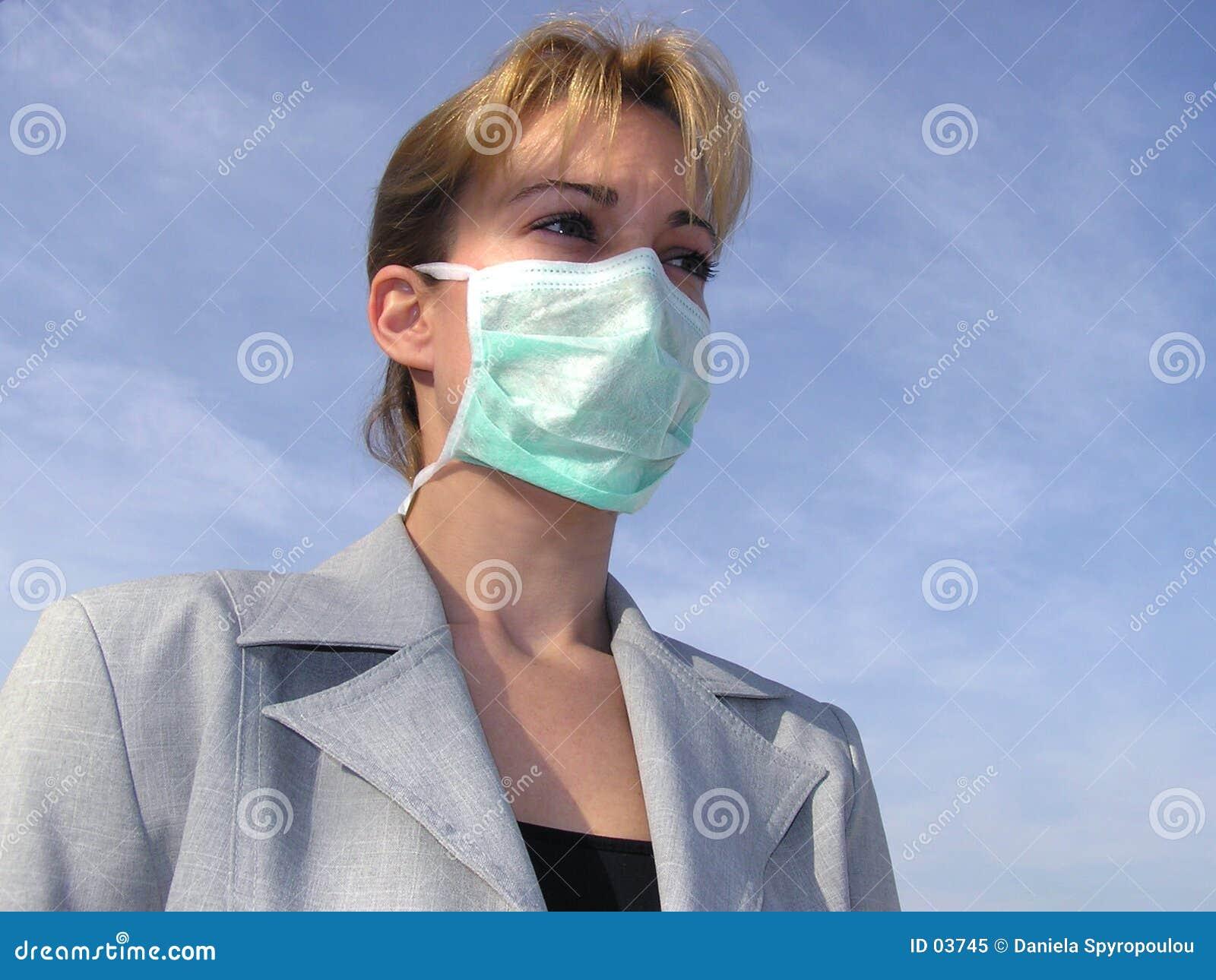 Download Maskeringsläkarundersökning Fotografering för Bildbyråer - Bild av sjukdom, hår: 3745