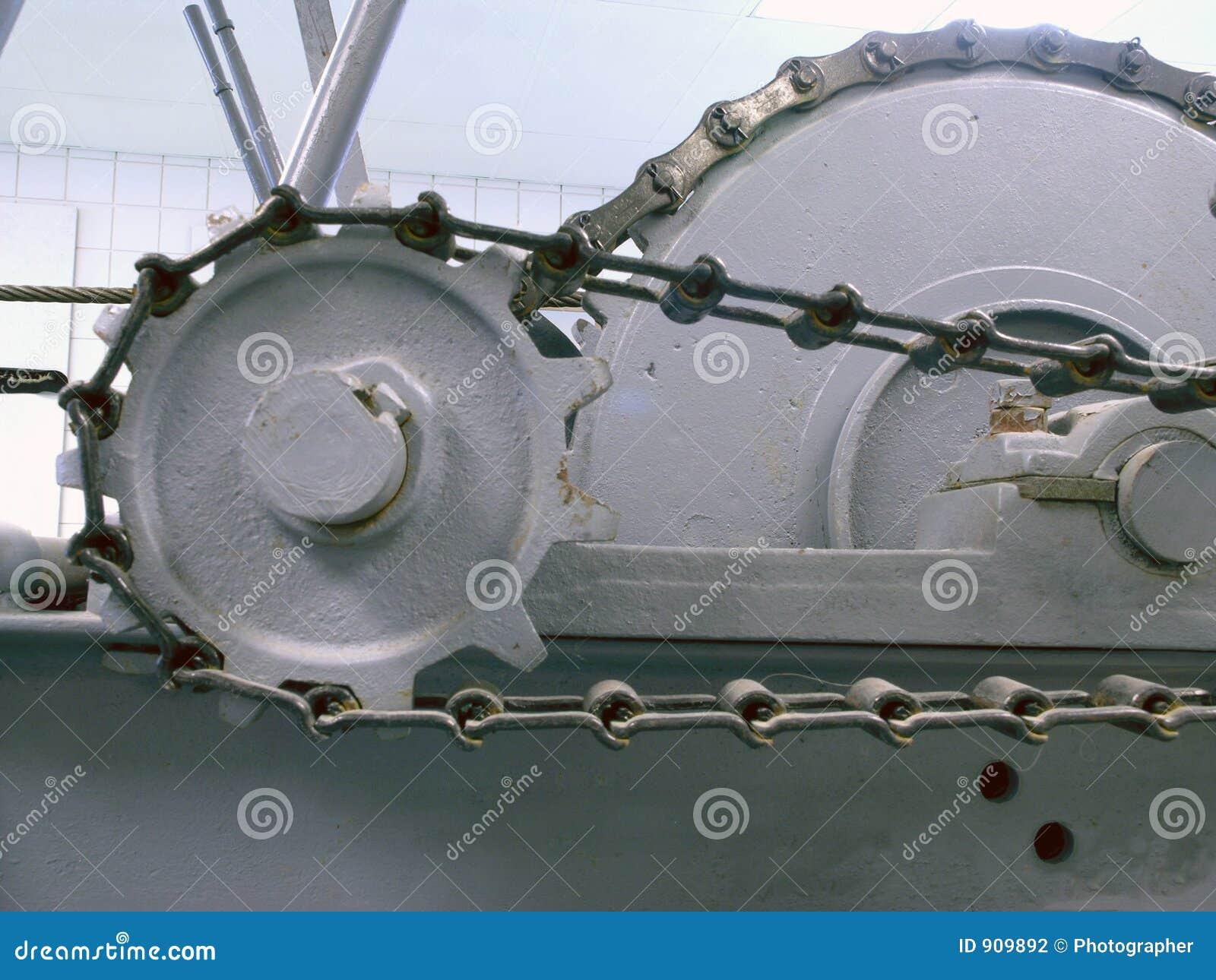 Maskin för kedjekugghjul