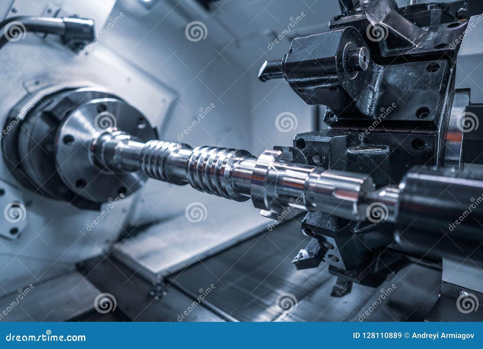 Maskin för MetalworkingCNC-malning Modern processin för bitande metall
