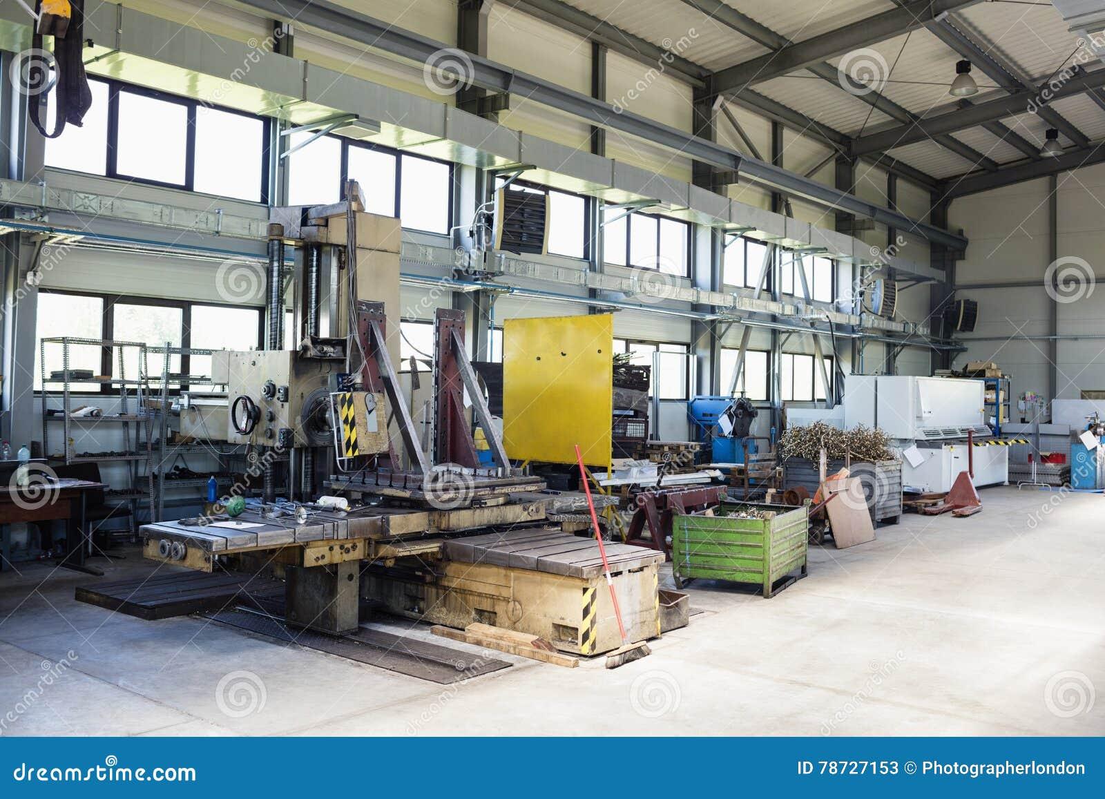 Maskineri i fabriks- bransch