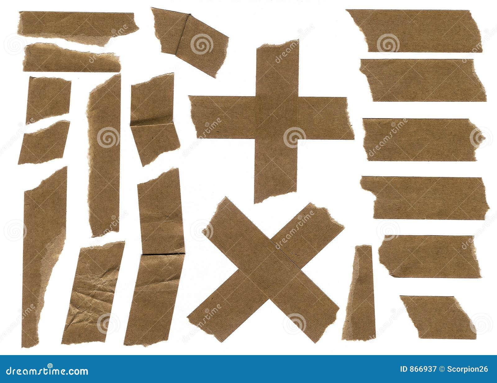 Masking paper strip tape