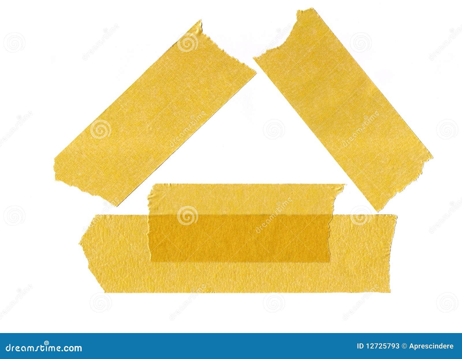 Masking Tape Stock Image. Image Of Grunge, Paper, Edge
