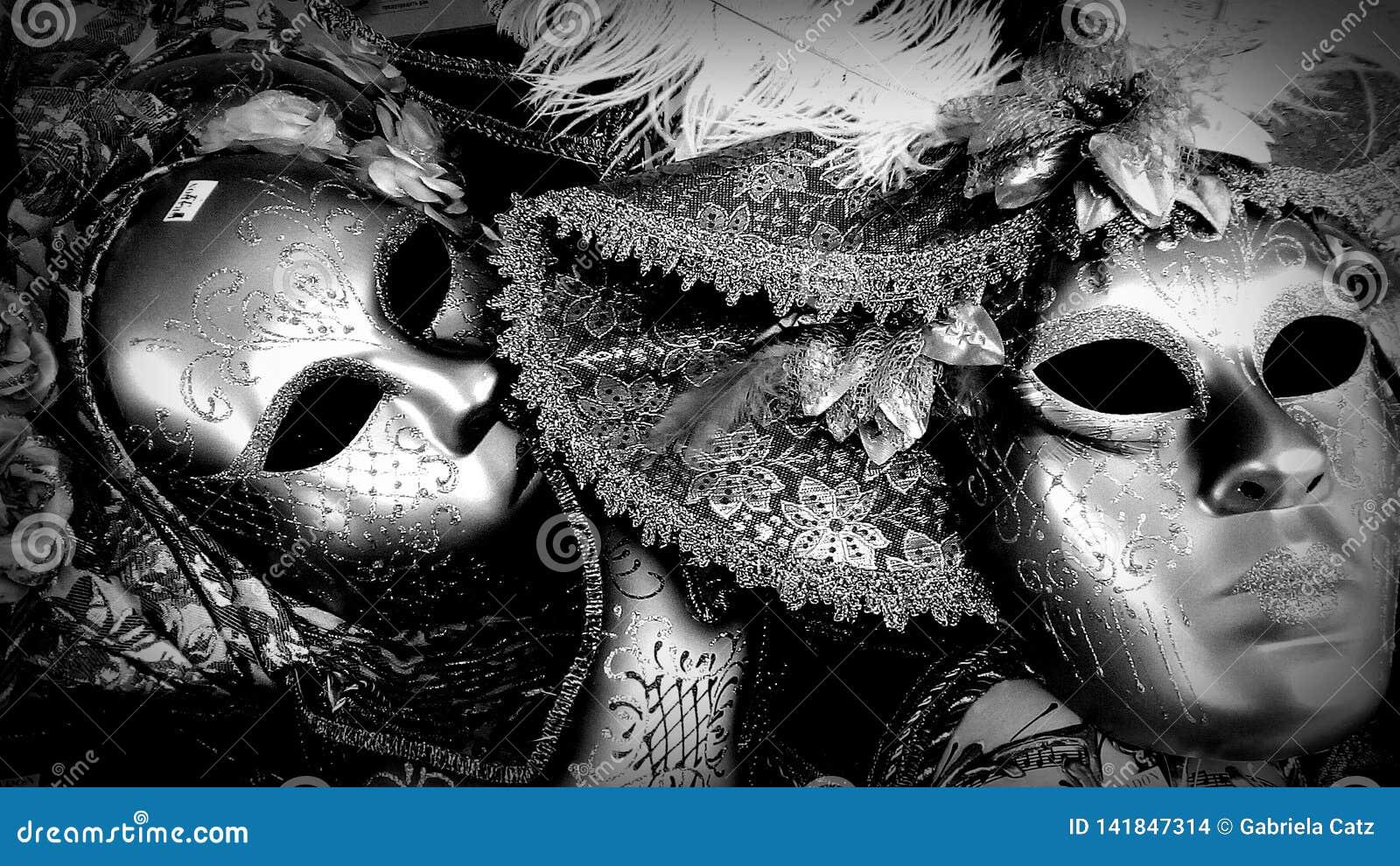 Masks in monochrome