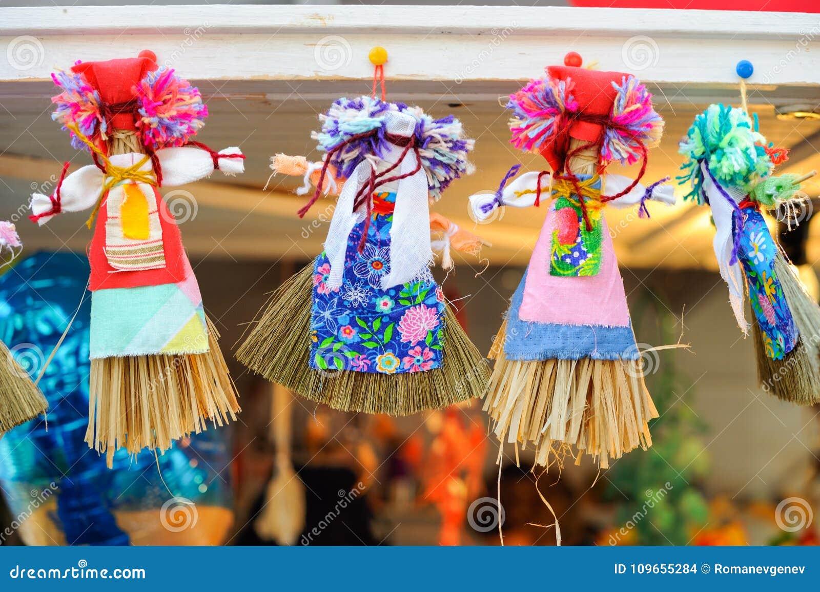 Maslenitsa dolls