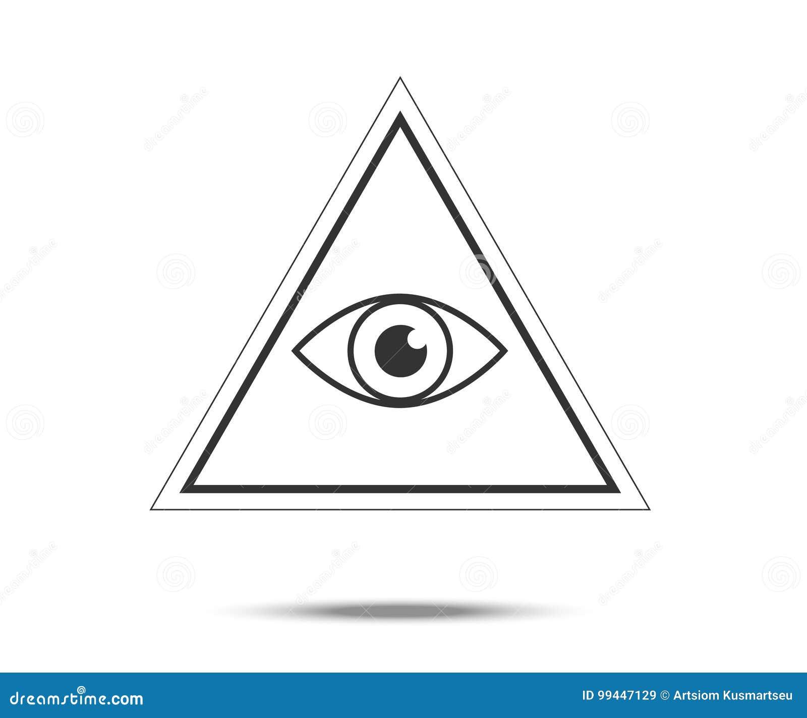 Masonic symbol stock vector illustration of secret freemason masonic symbol buycottarizona Image collections