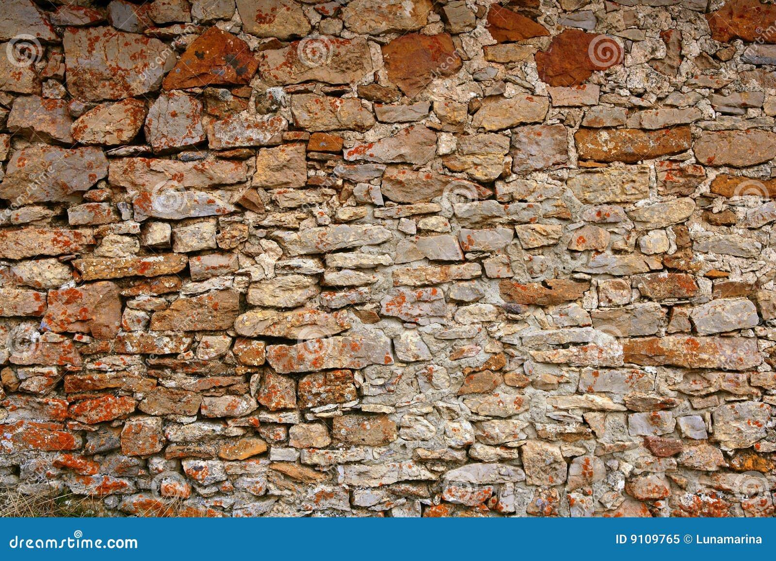 Masonry In Spain Old Stone Walls Royalty Free Stock Photo