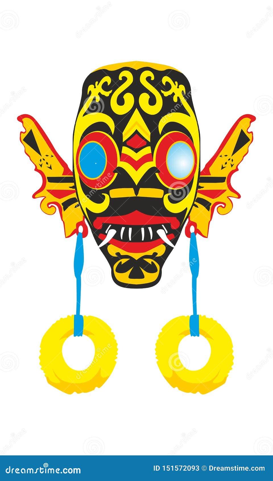 Masque de Dayak