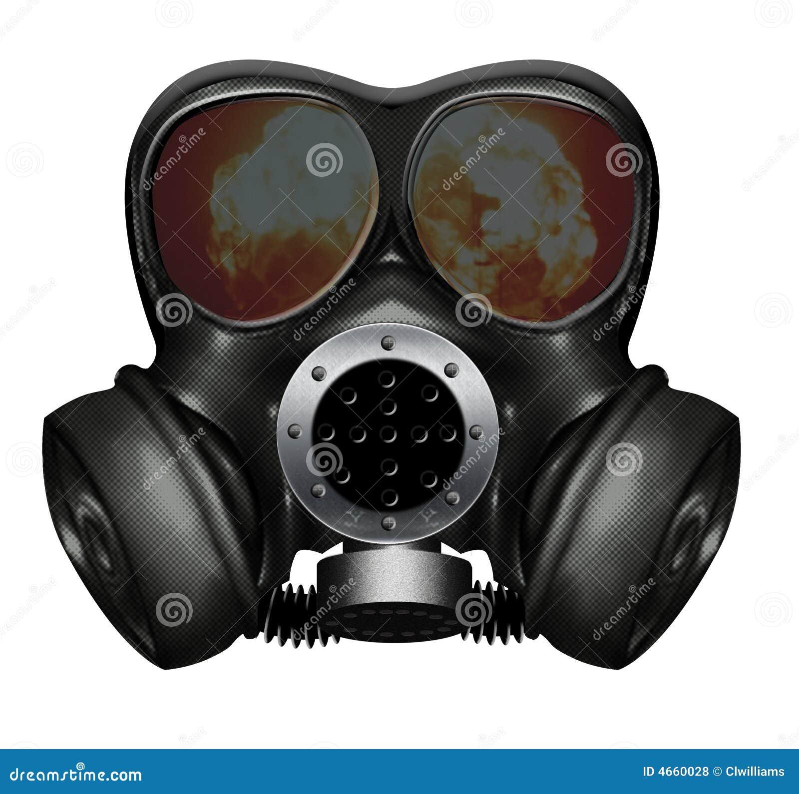 masque de gaz photos libres de droits image 4660028. Black Bedroom Furniture Sets. Home Design Ideas