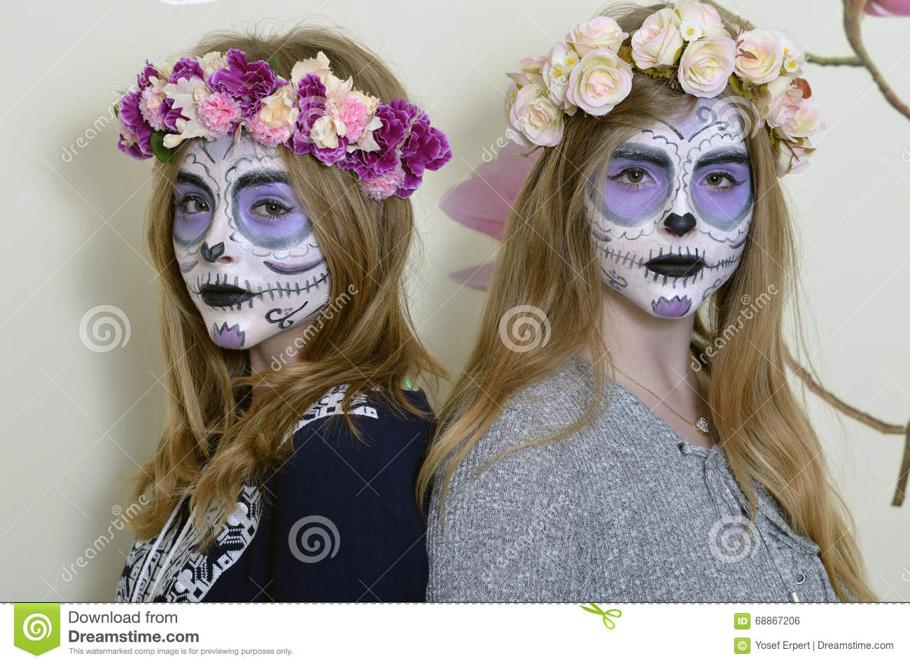 Maquillage halloween mexicain simple remarquable tete de - Maquillage halloween mexicain ...