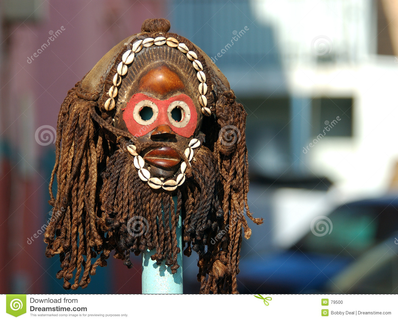 Masque de zoulou