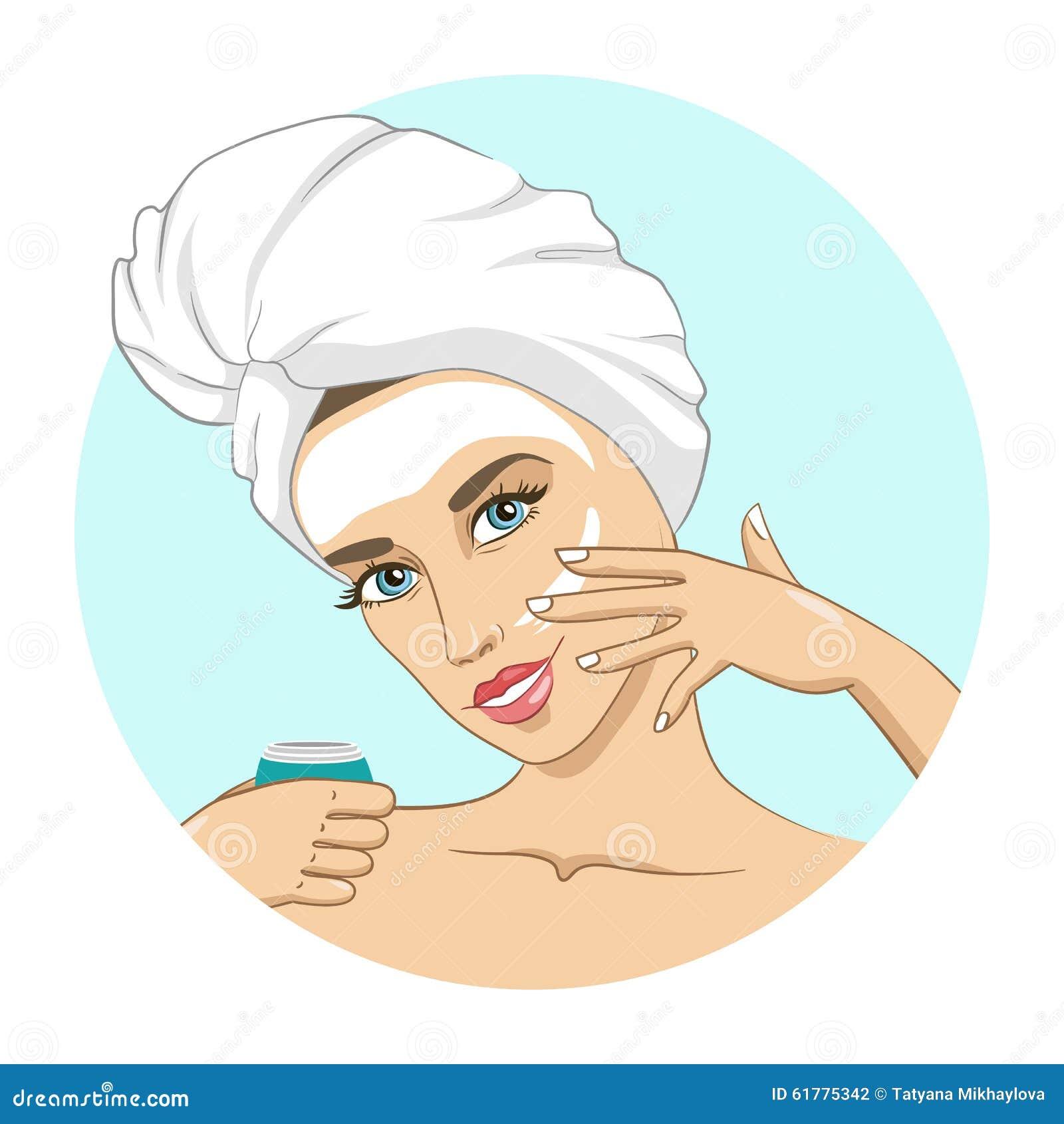 masque pour le visage illustration de vecteur image 61775342. Black Bedroom Furniture Sets. Home Design Ideas