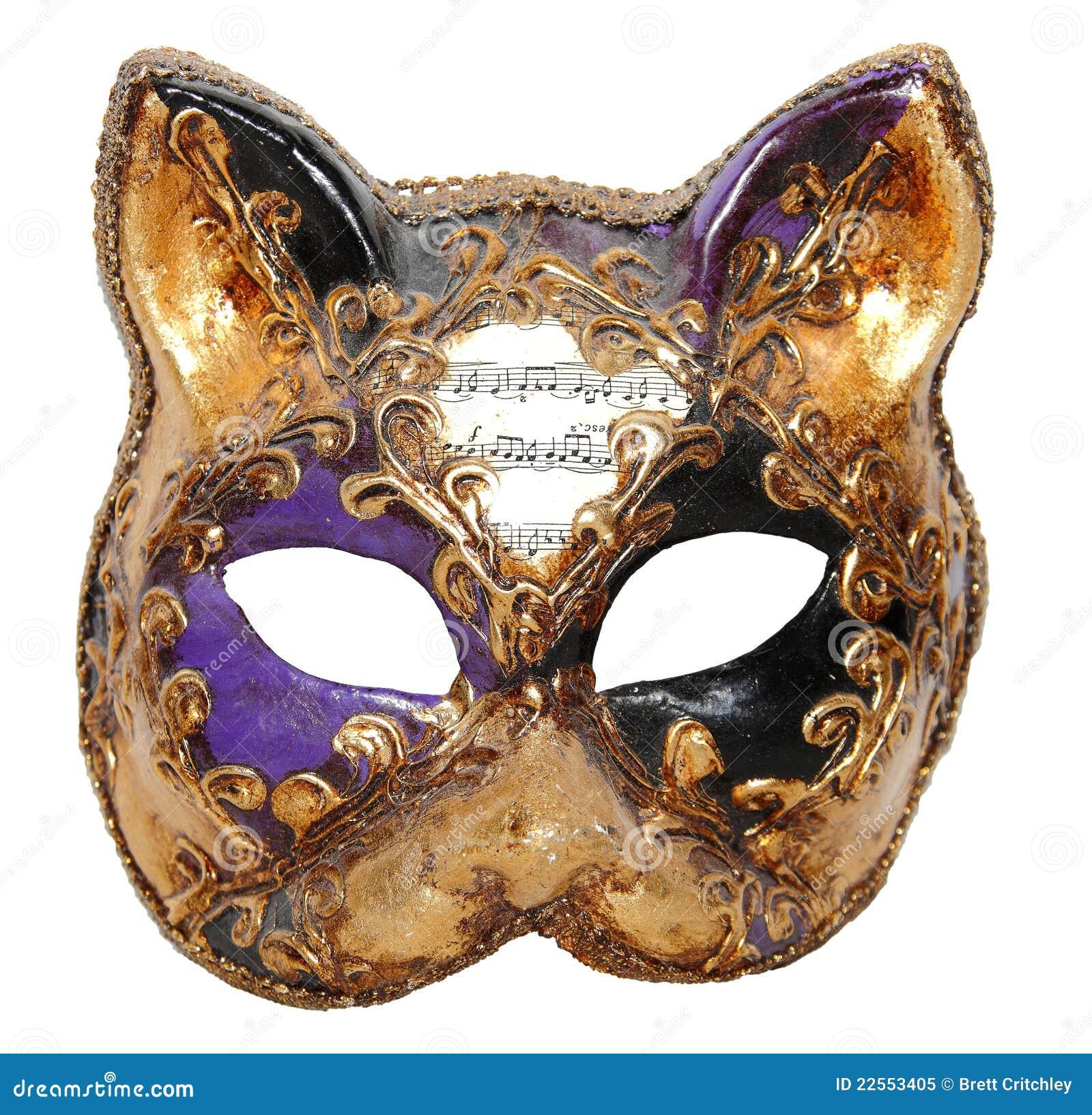 Masque Venise de chat