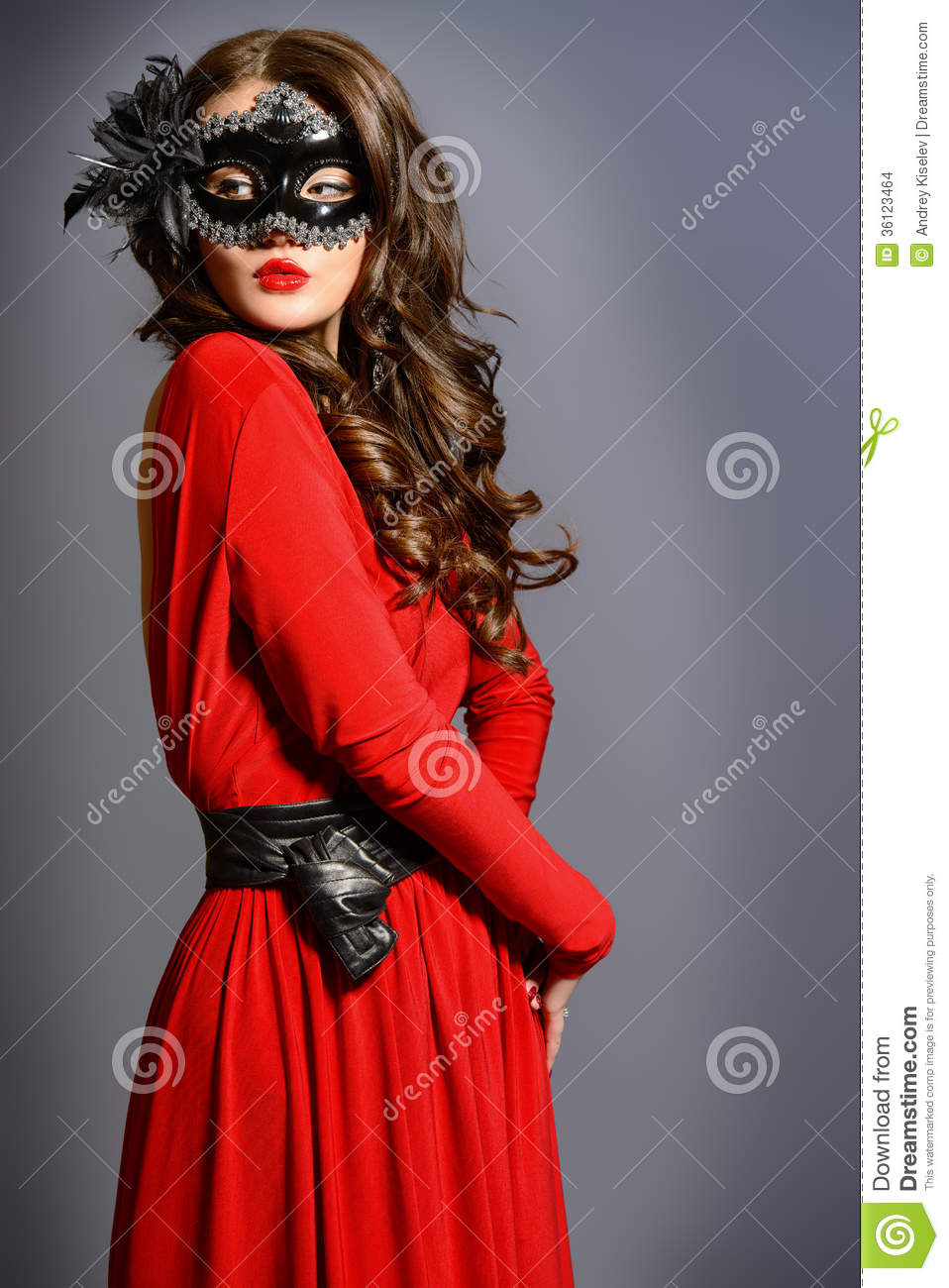 Masquerade Look Stock Photo Image Of Cosmetics Fashion