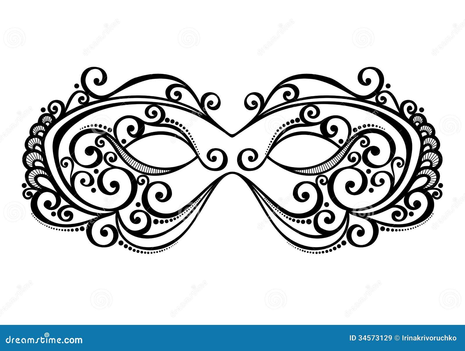 Masquerade Mask Royalty Free Stock Images Image 34573129